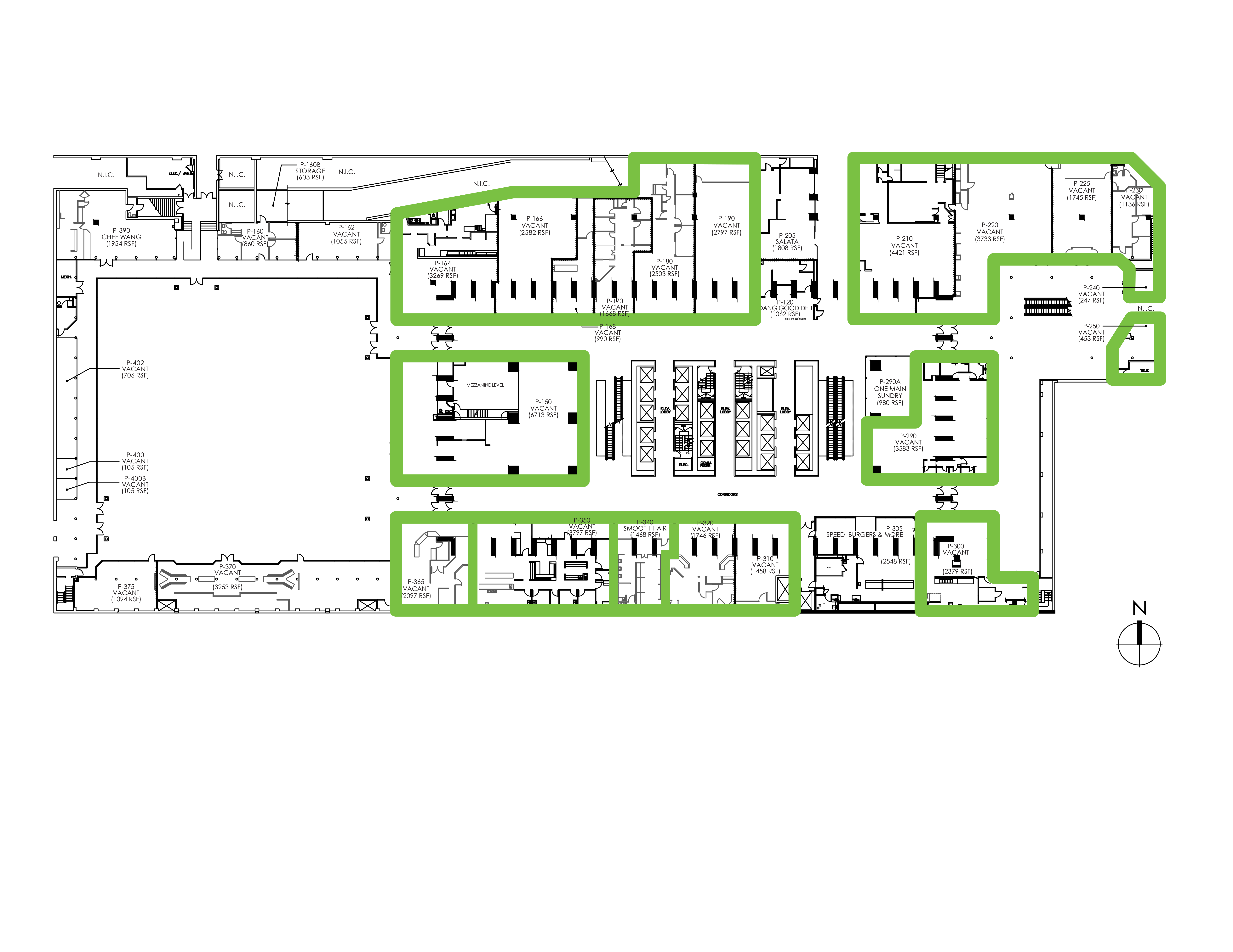 One Main: site plan