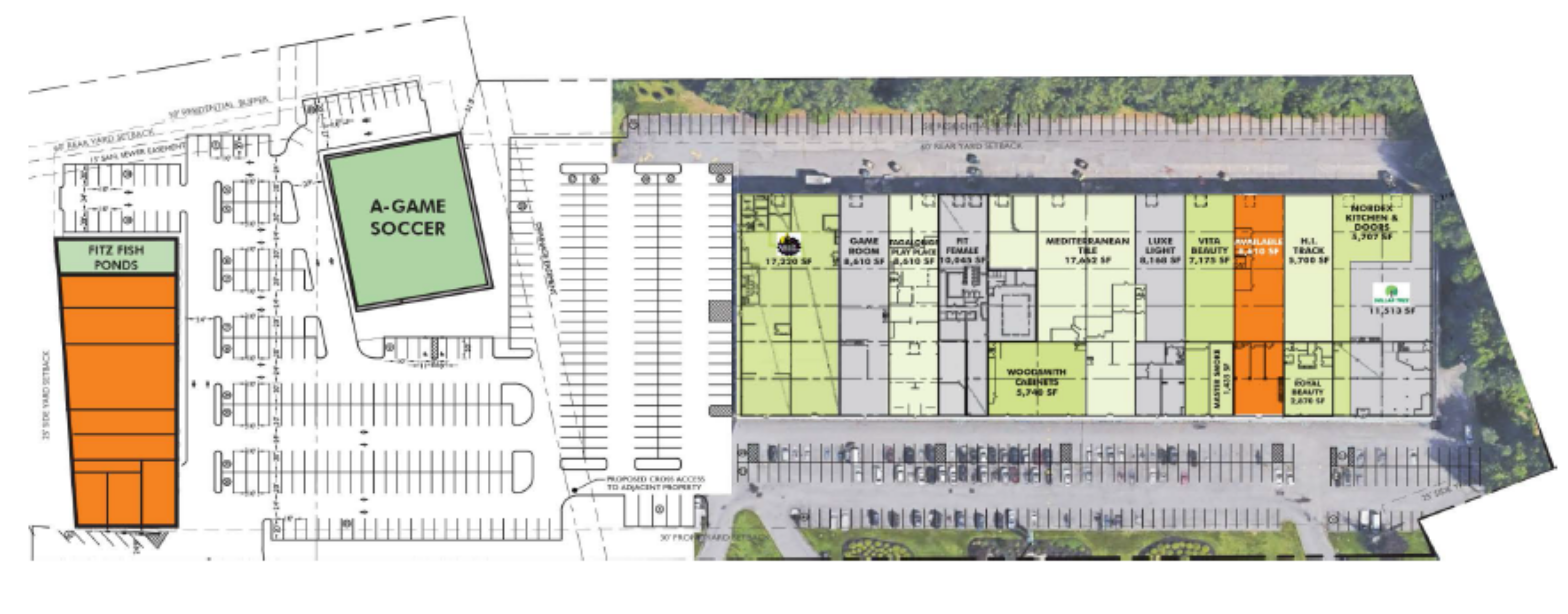 Crown Plaza Expansion: site plan