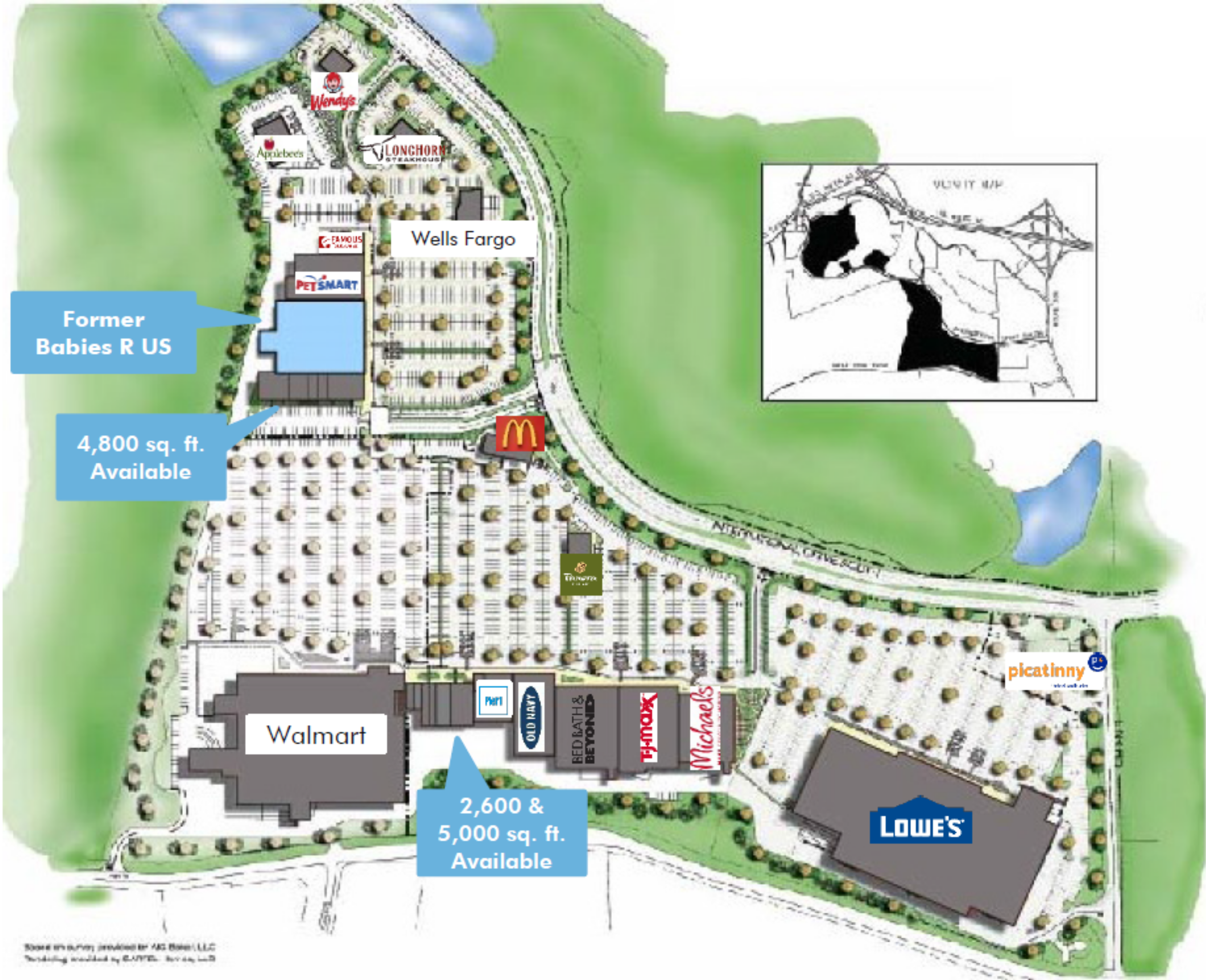ITC Crossing South: site plan