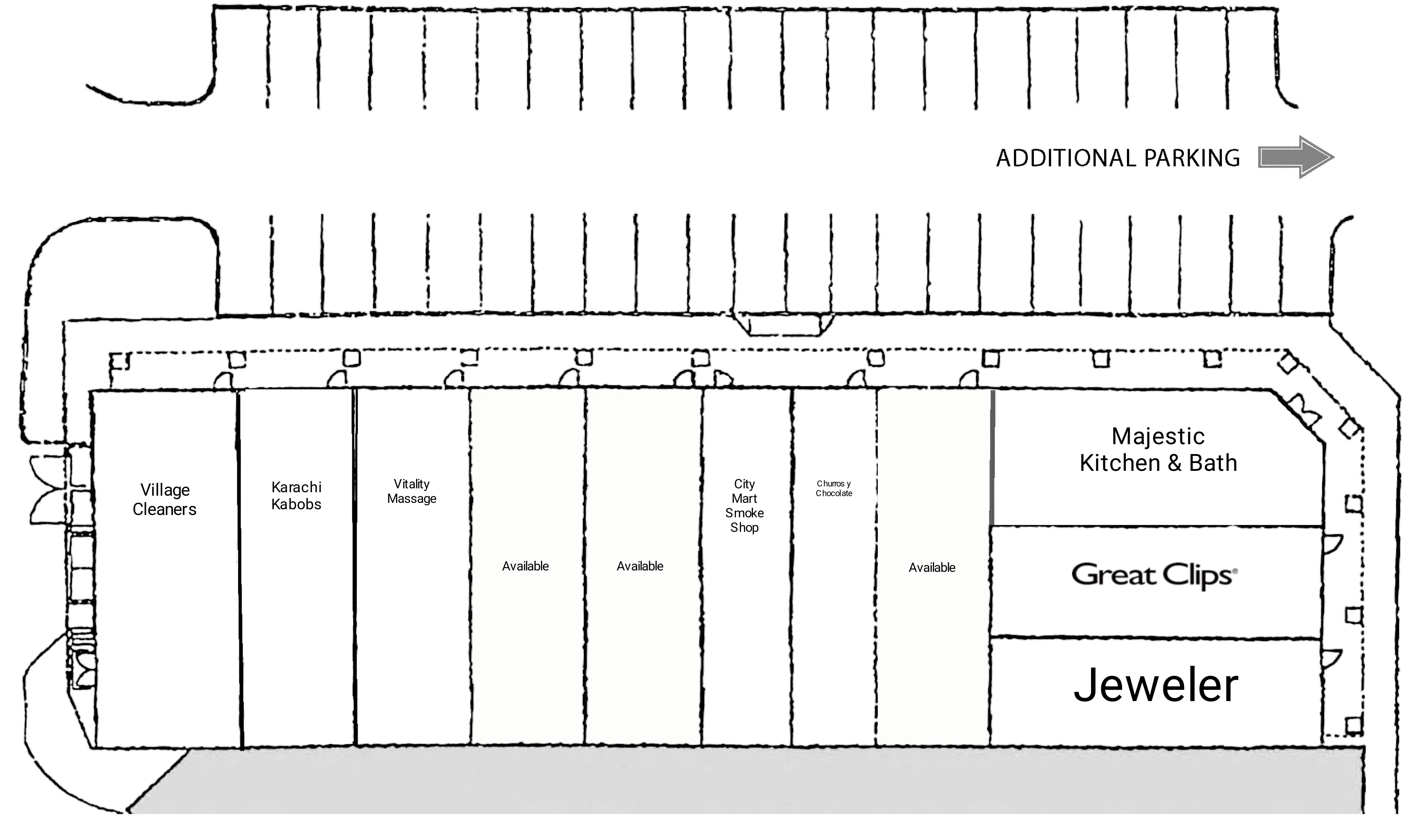 Algonquin Randall Plaza: site plan