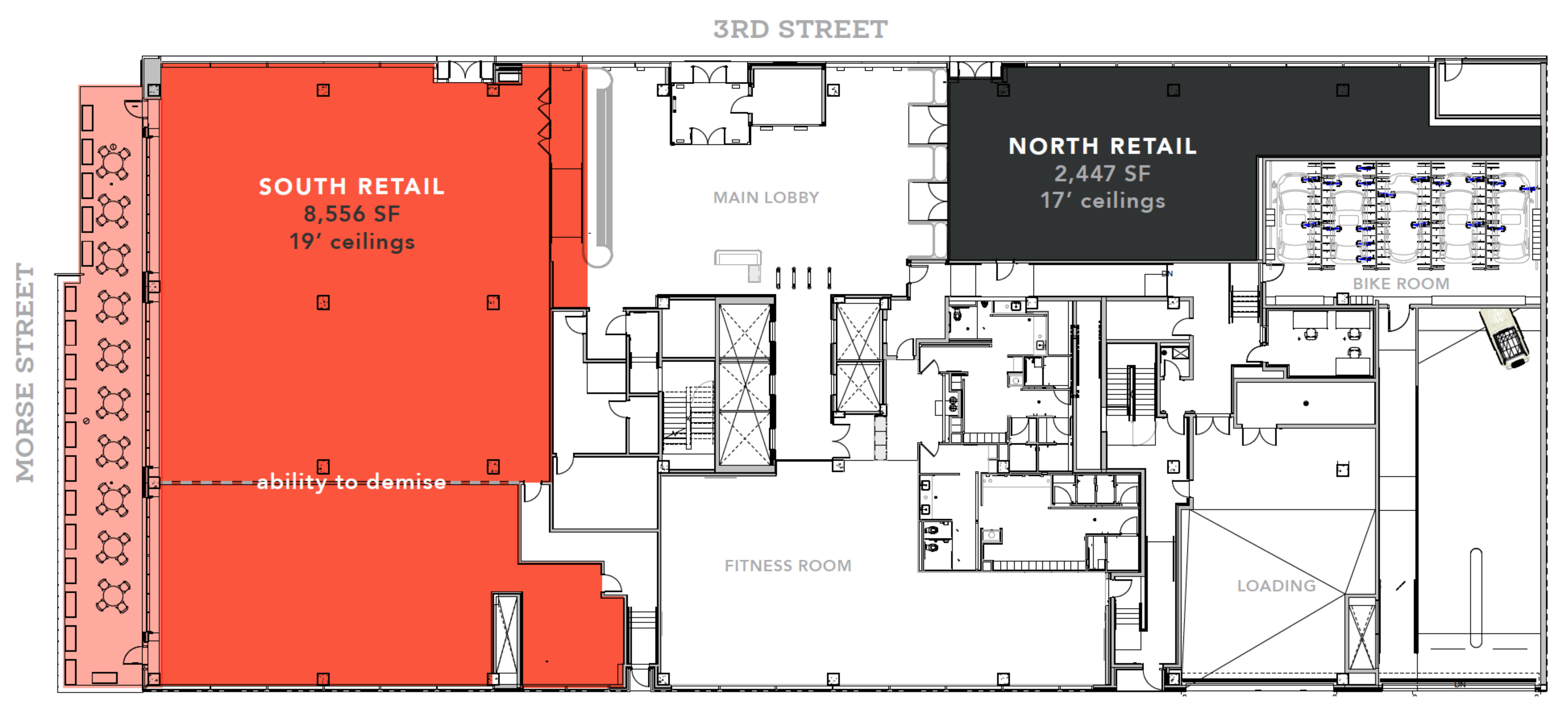 Signal House: site plan