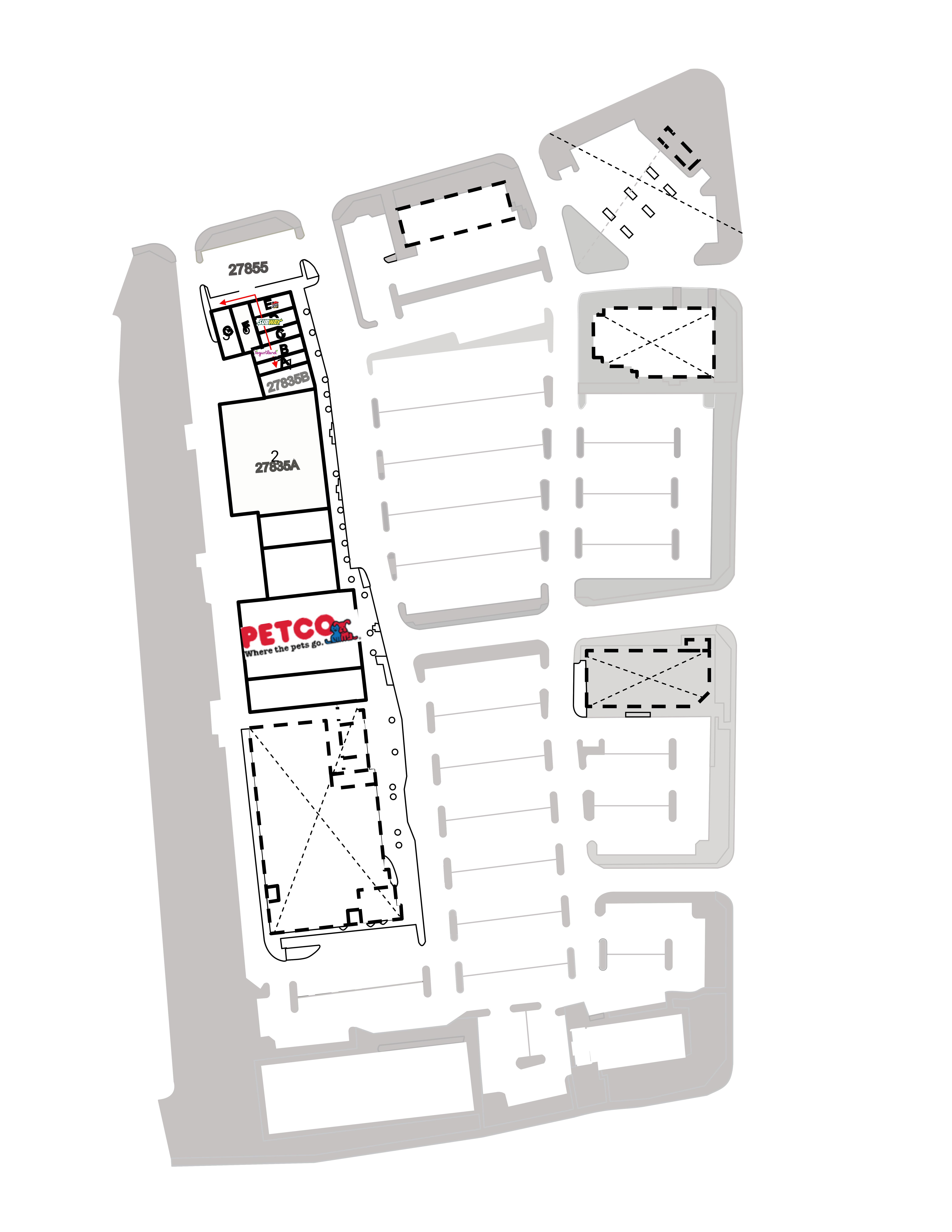 Trabuco Hills : site plan