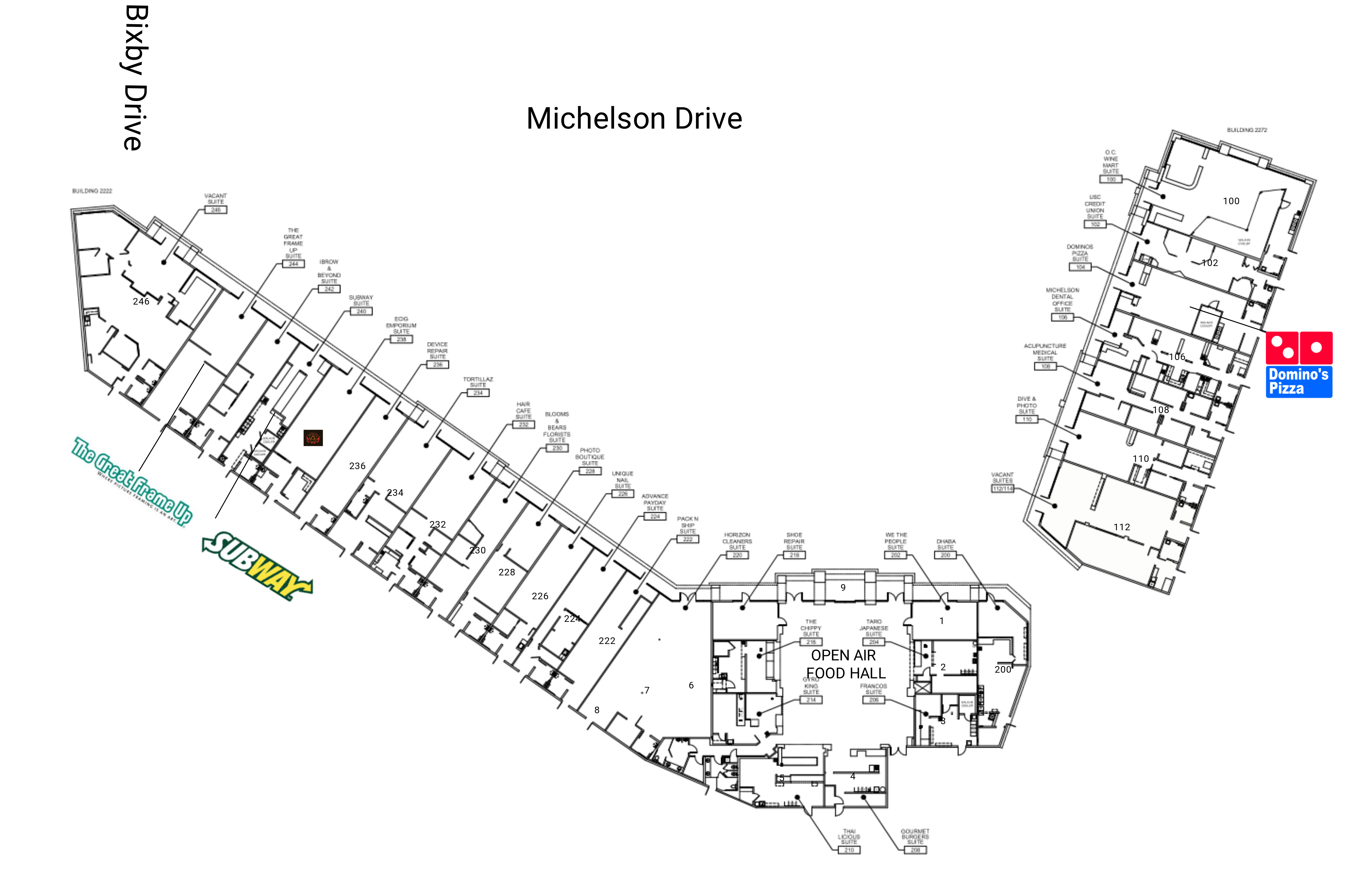 TRADE: site plan