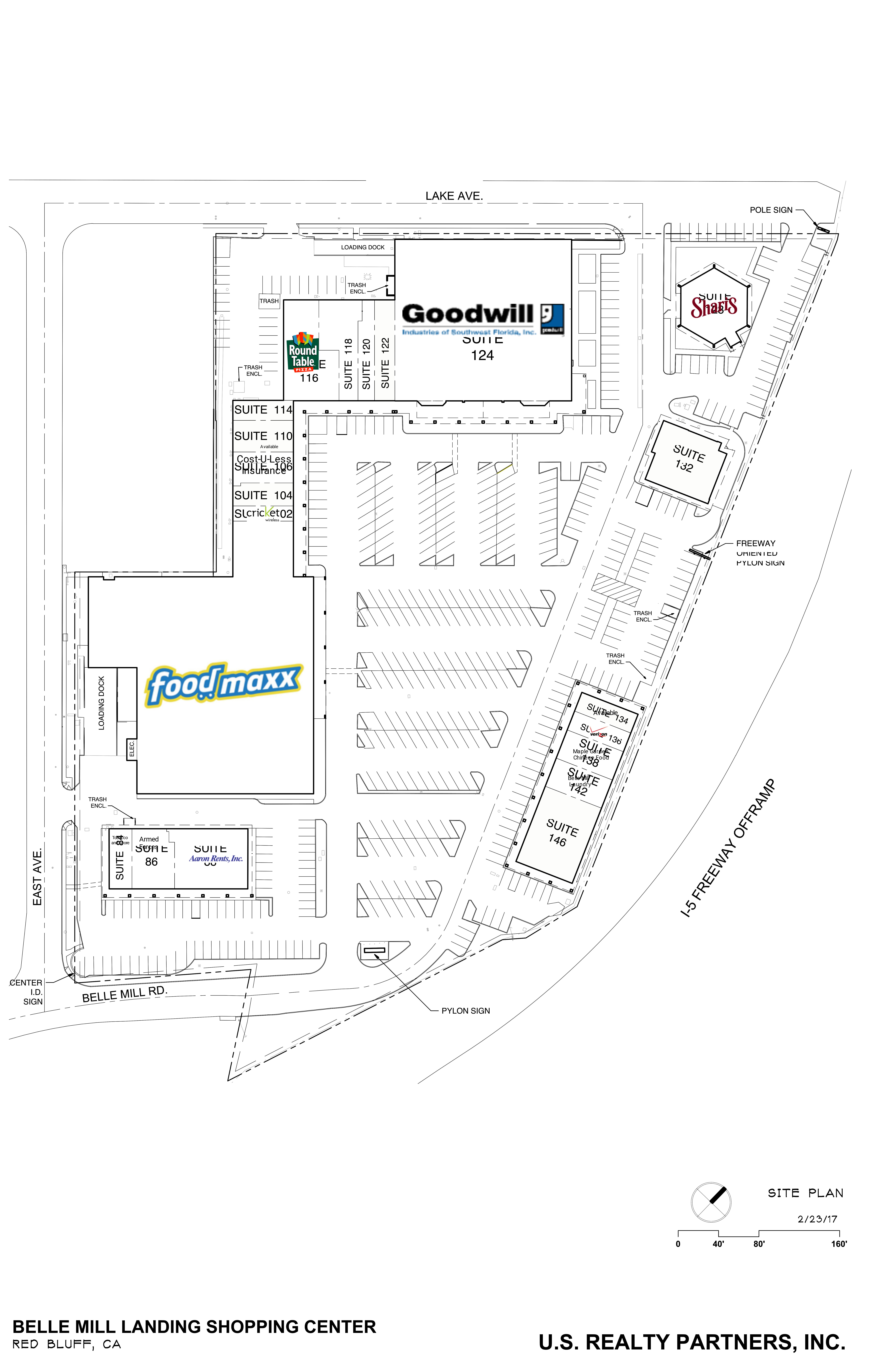 Belle Mill Landing: site plan