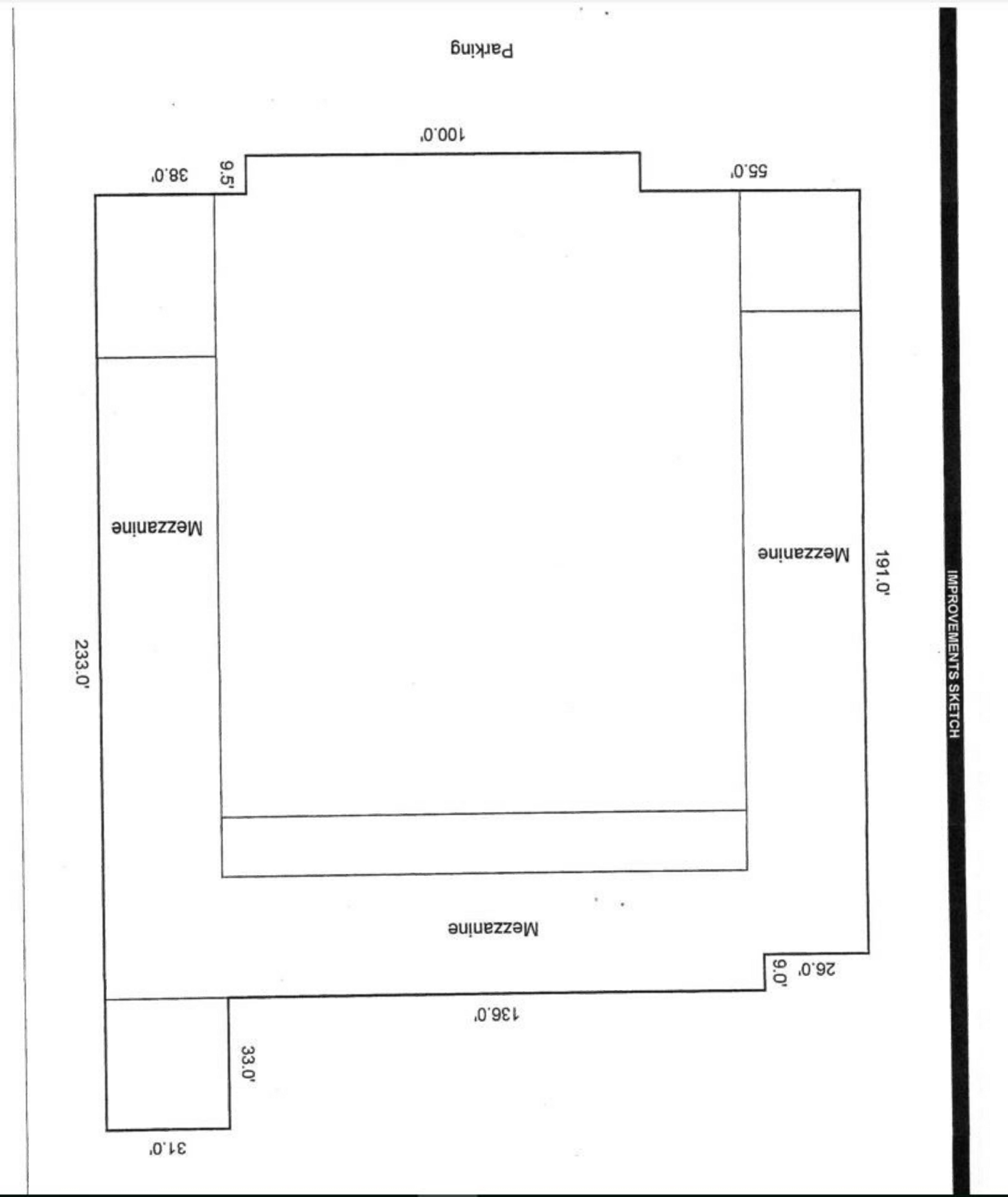 11340 South Street: site plan