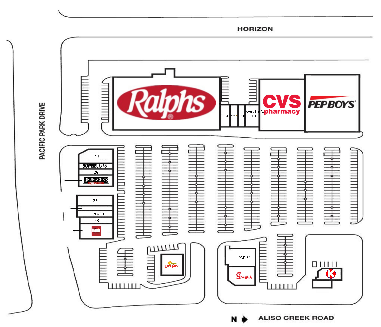 Aliso Pacific Plaza: site plan