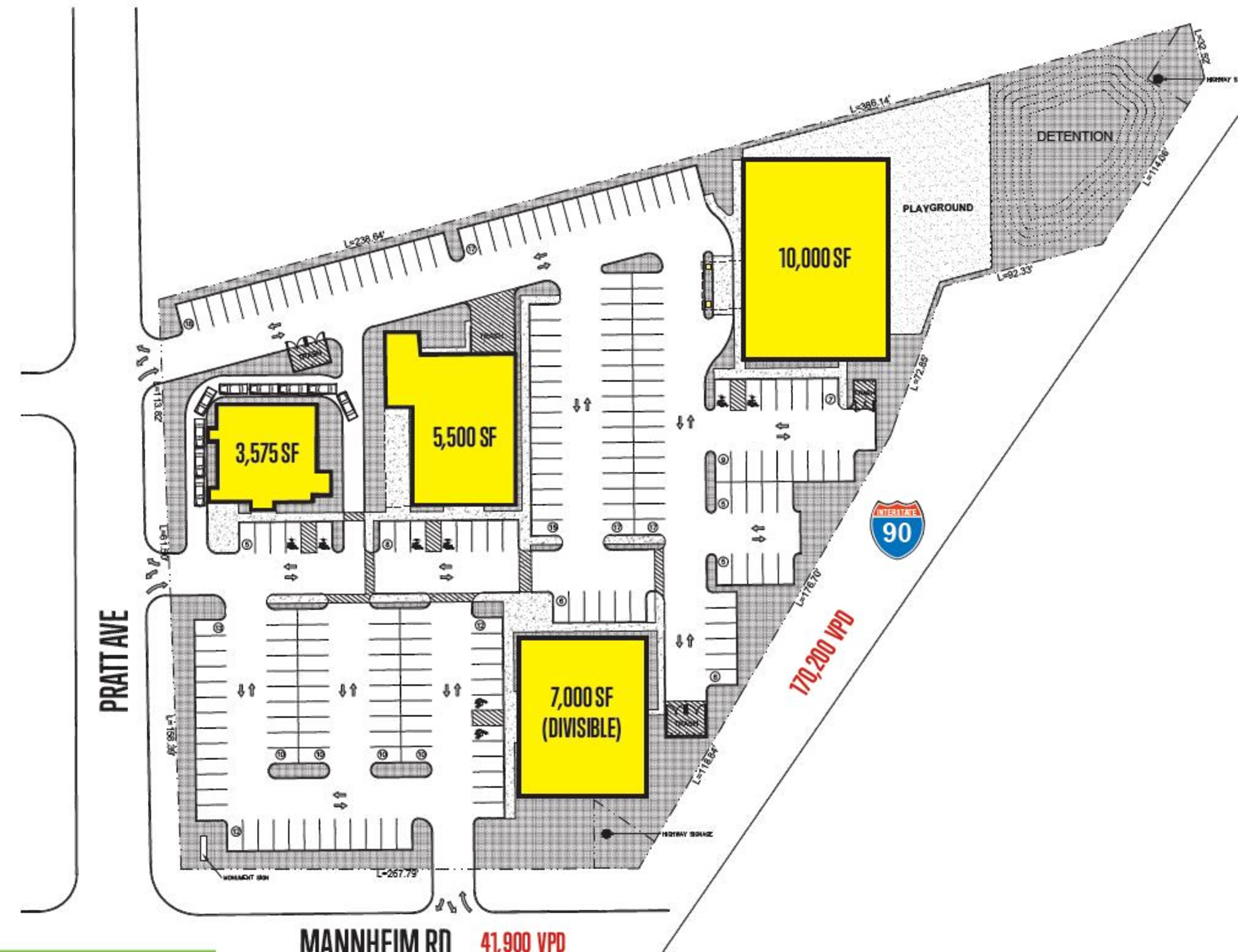 Mannheim & Pratt: site plan