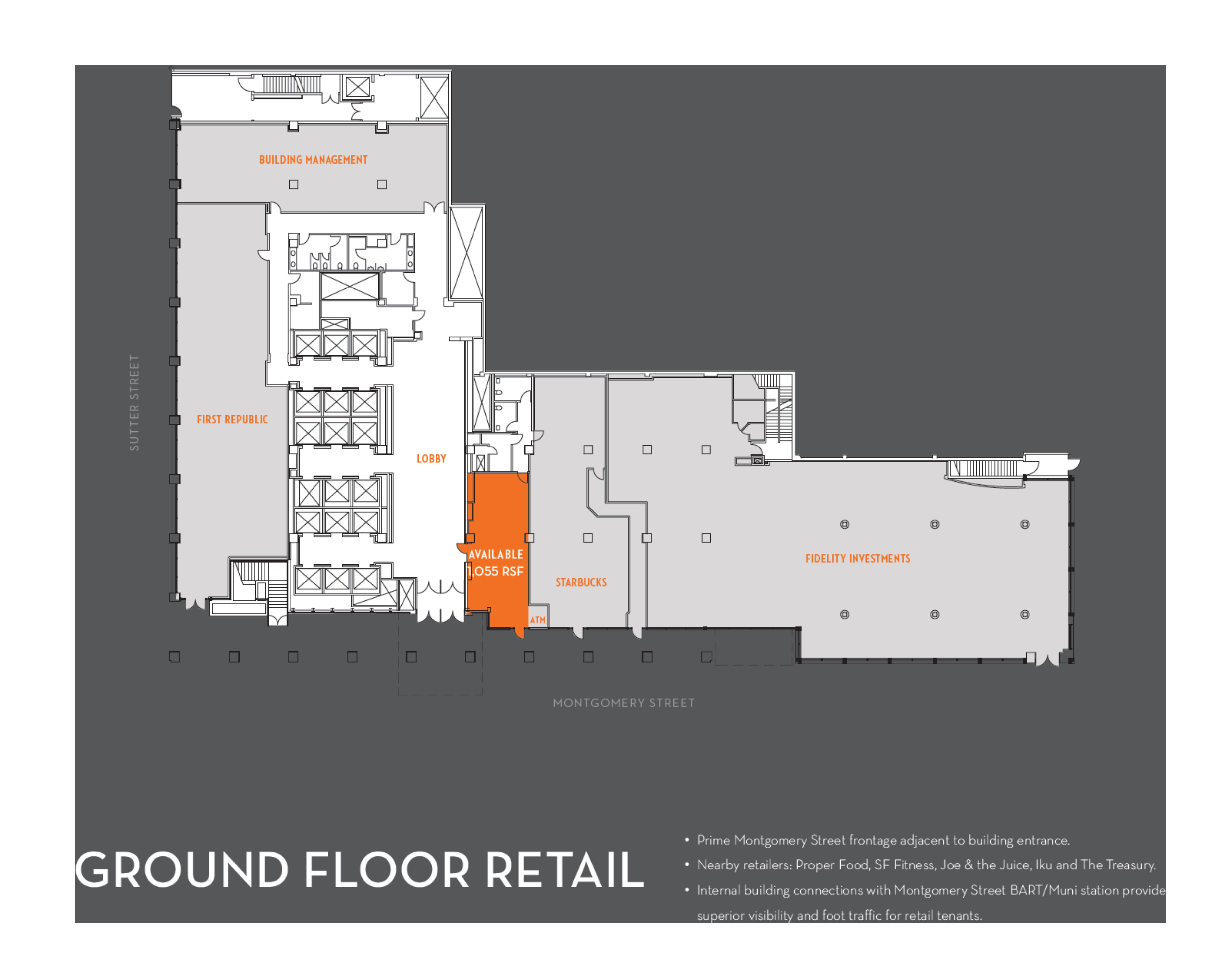 44 Montgomery Street: site plan