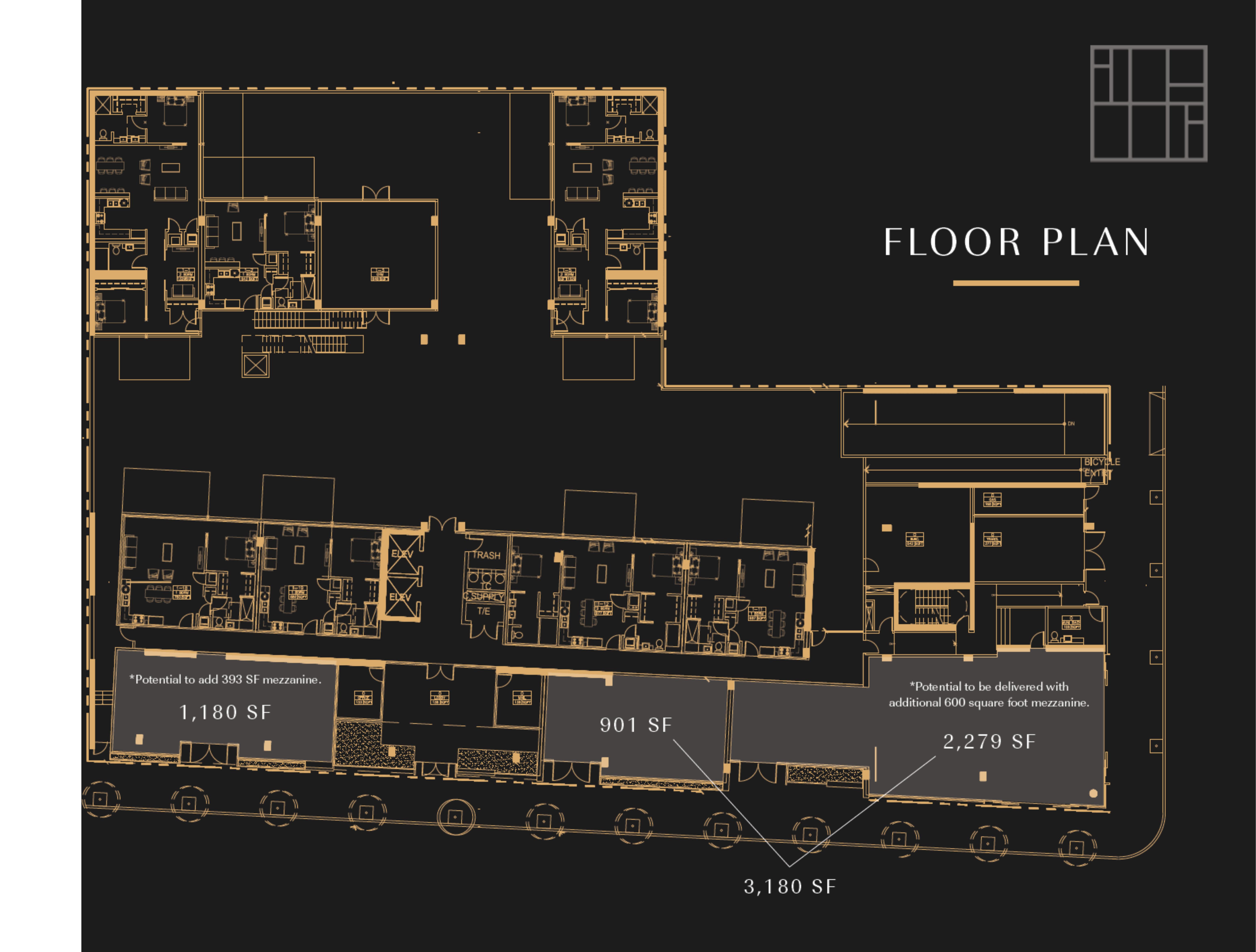 2177 Third Street: site plan