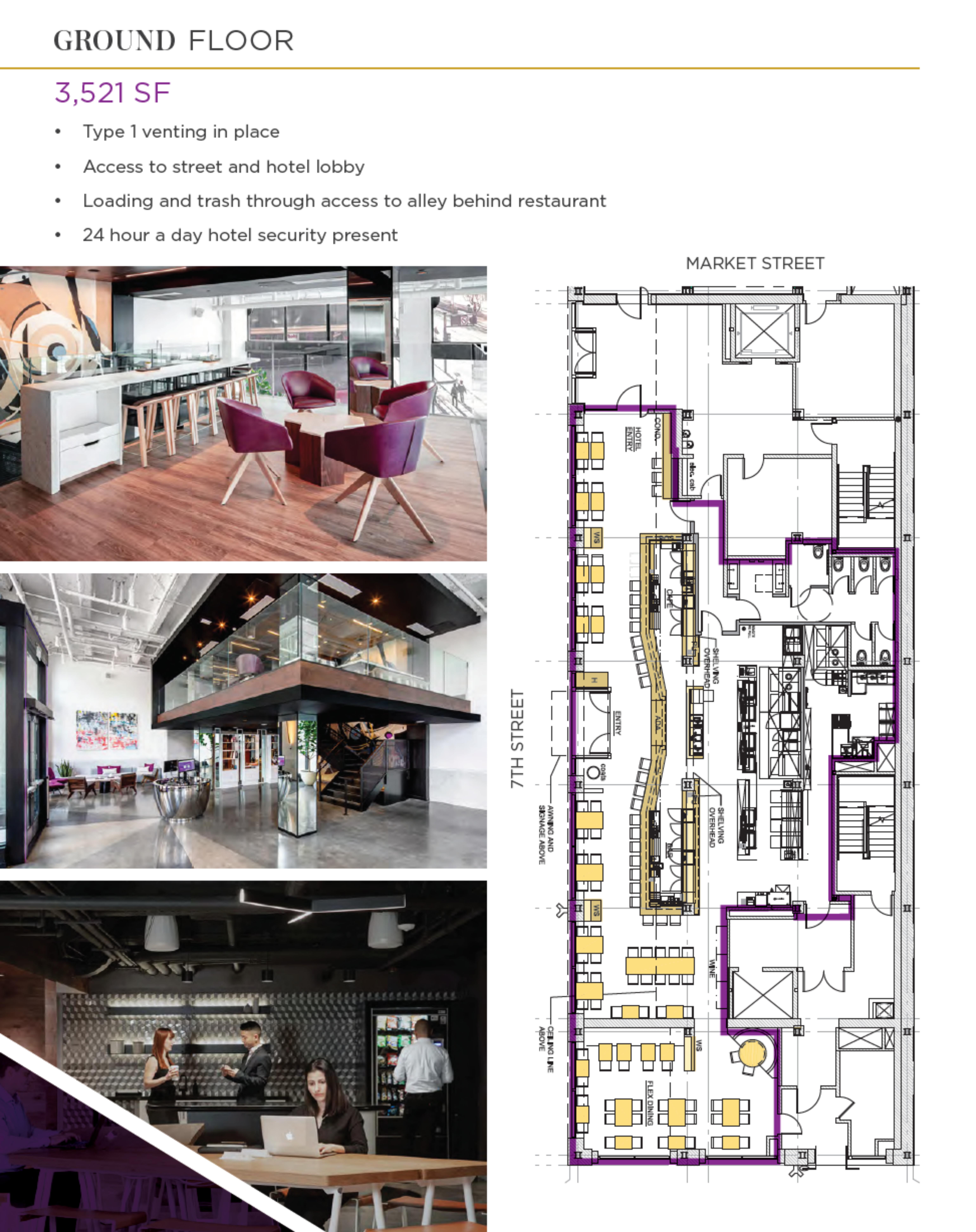 Yotel: site plan