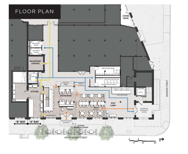 2 Henry Adams Street: site plan