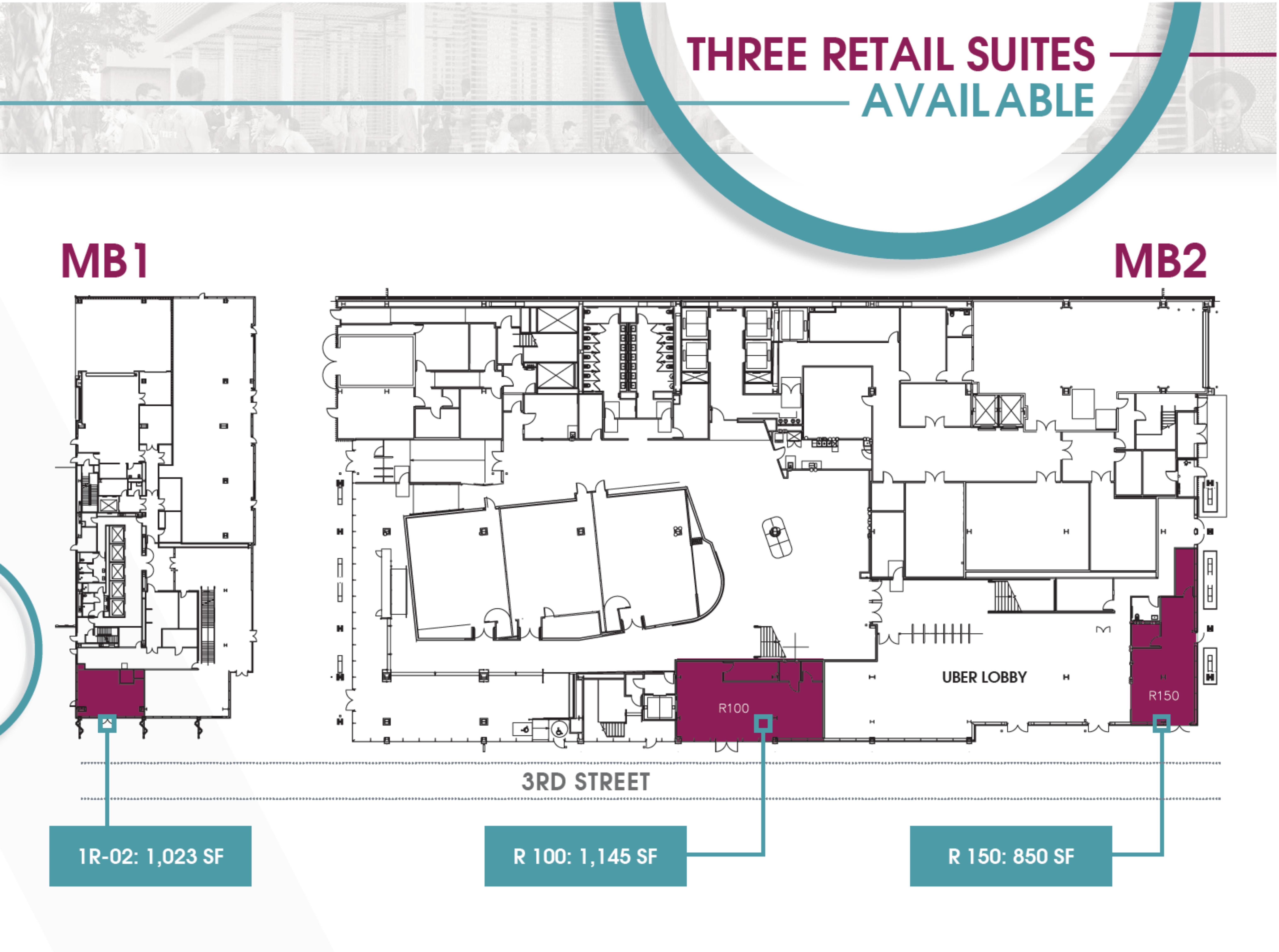 Uber HQ - 1455 3rd Street: site plan