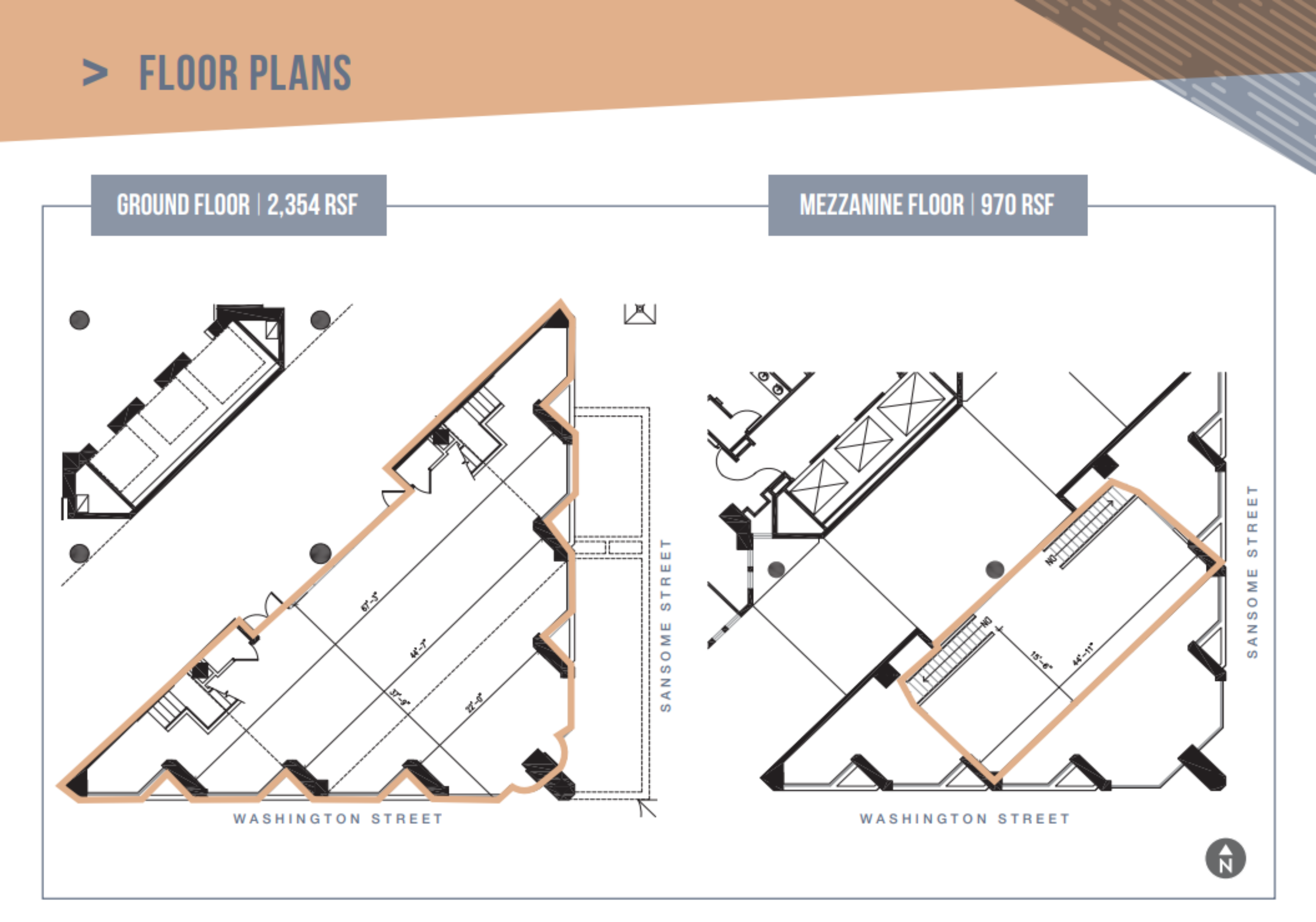 500 Washington Street: site plan