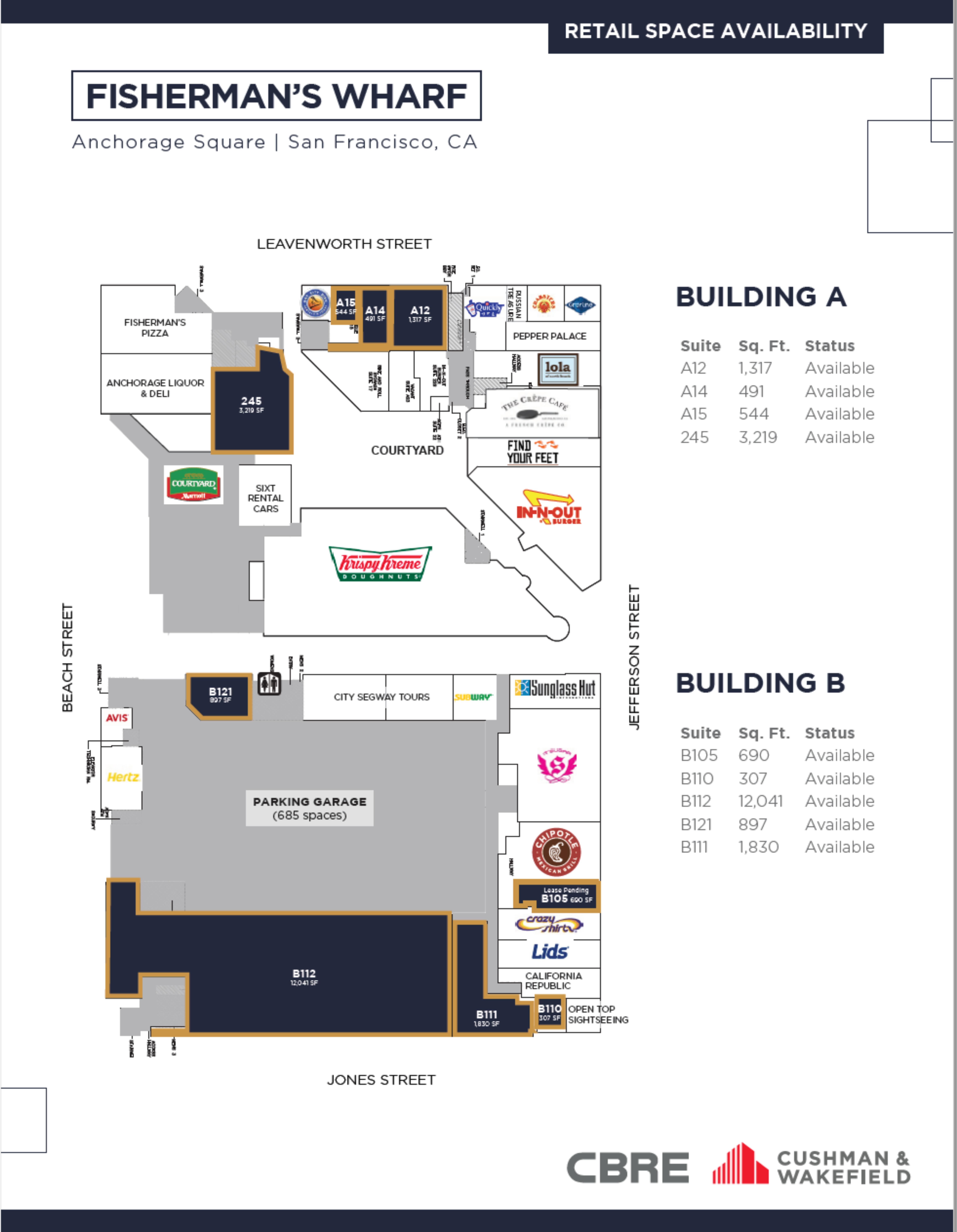 Anchorage Square: site plan