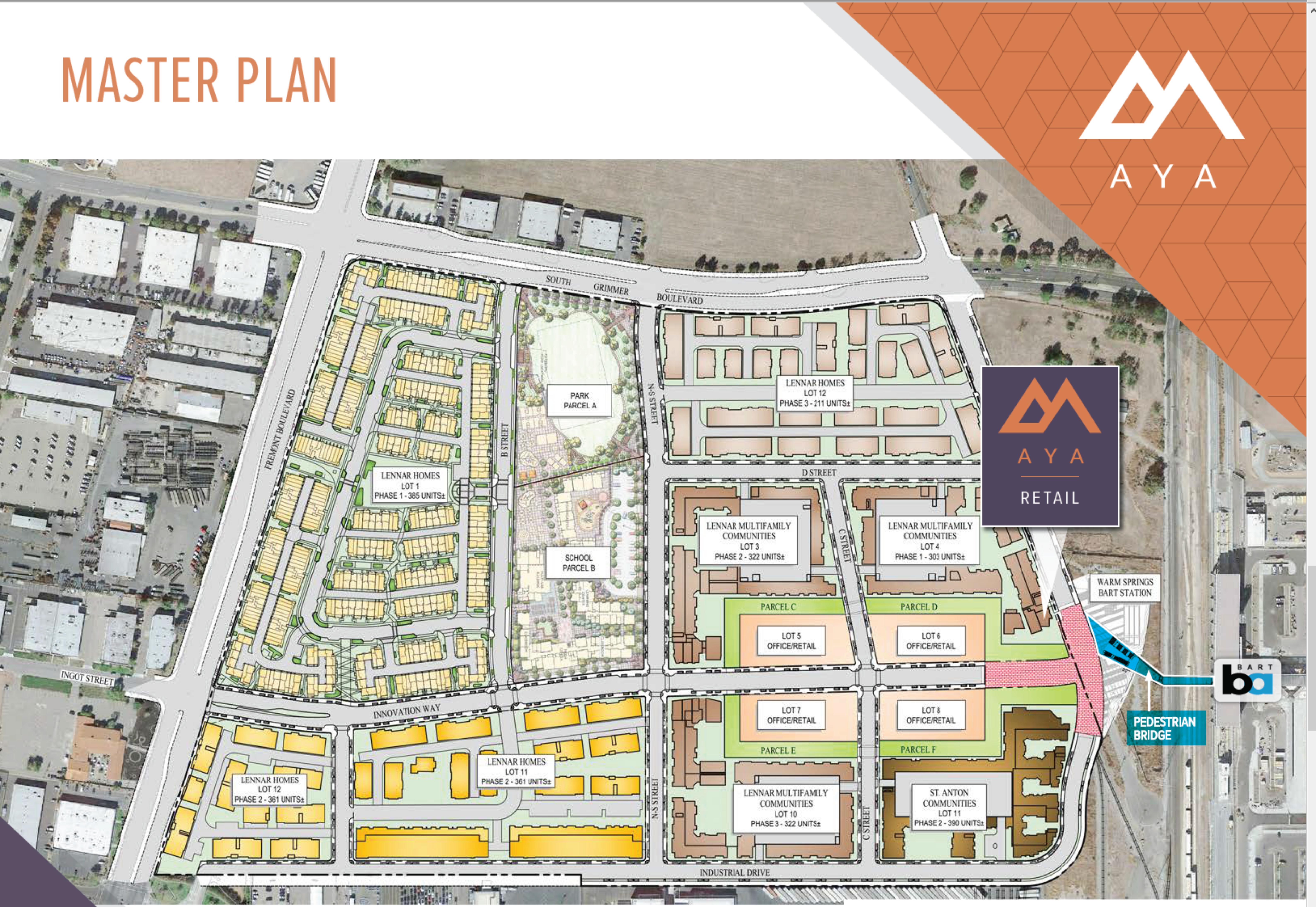 Aya - Fremont: site plan