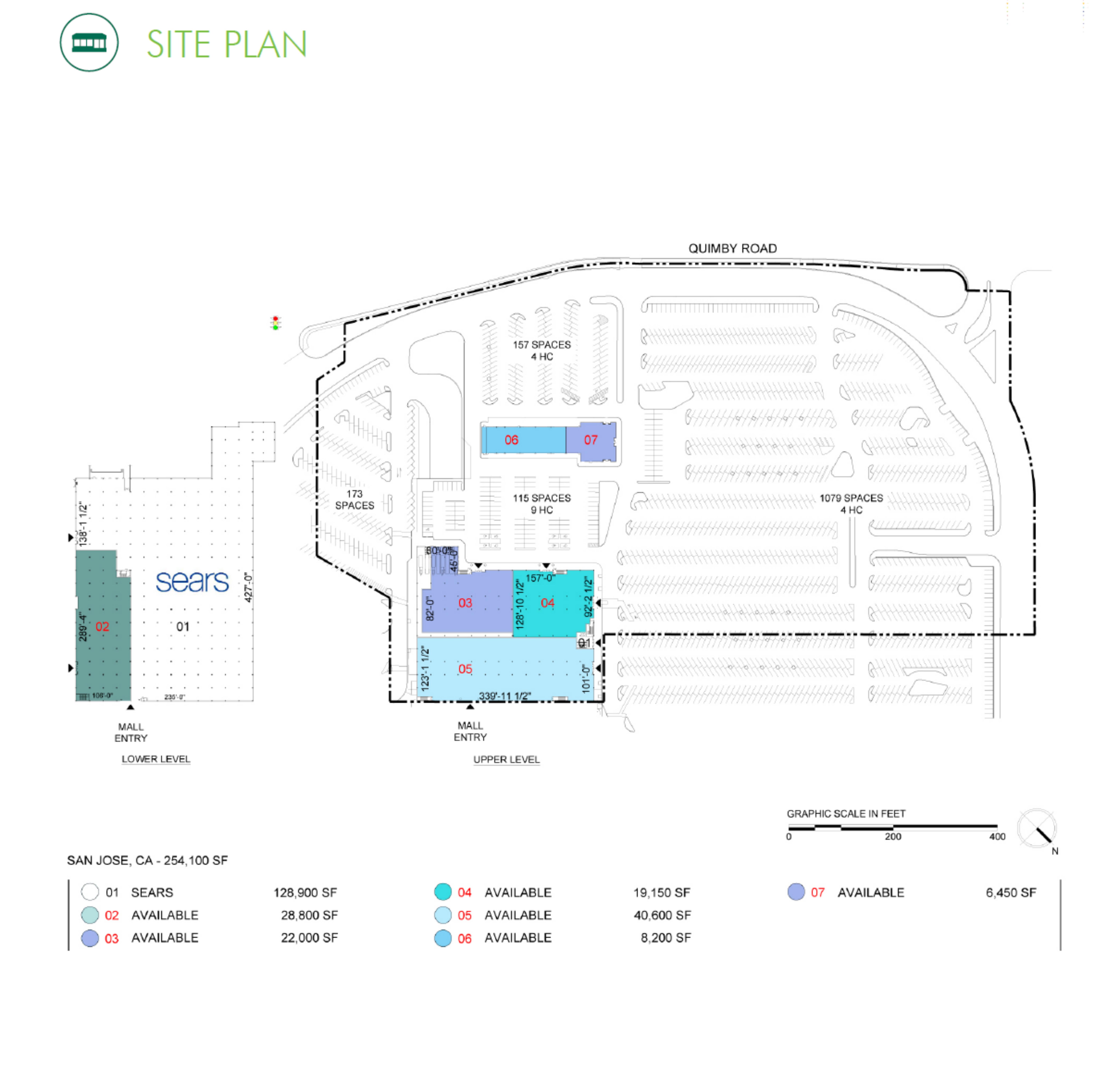 Eastridge Mall: site plan