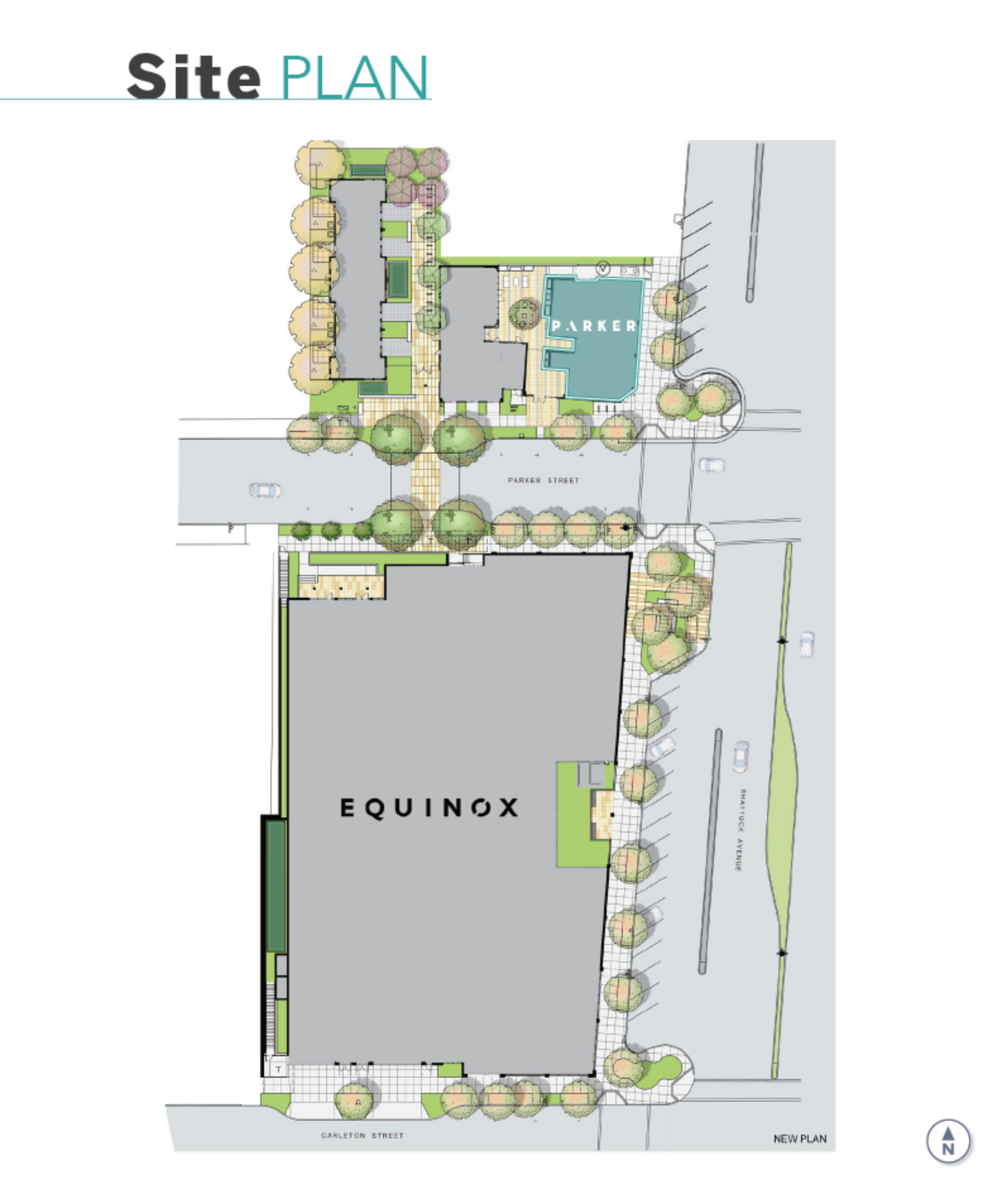 2598 Shattuck Avenue: site plan