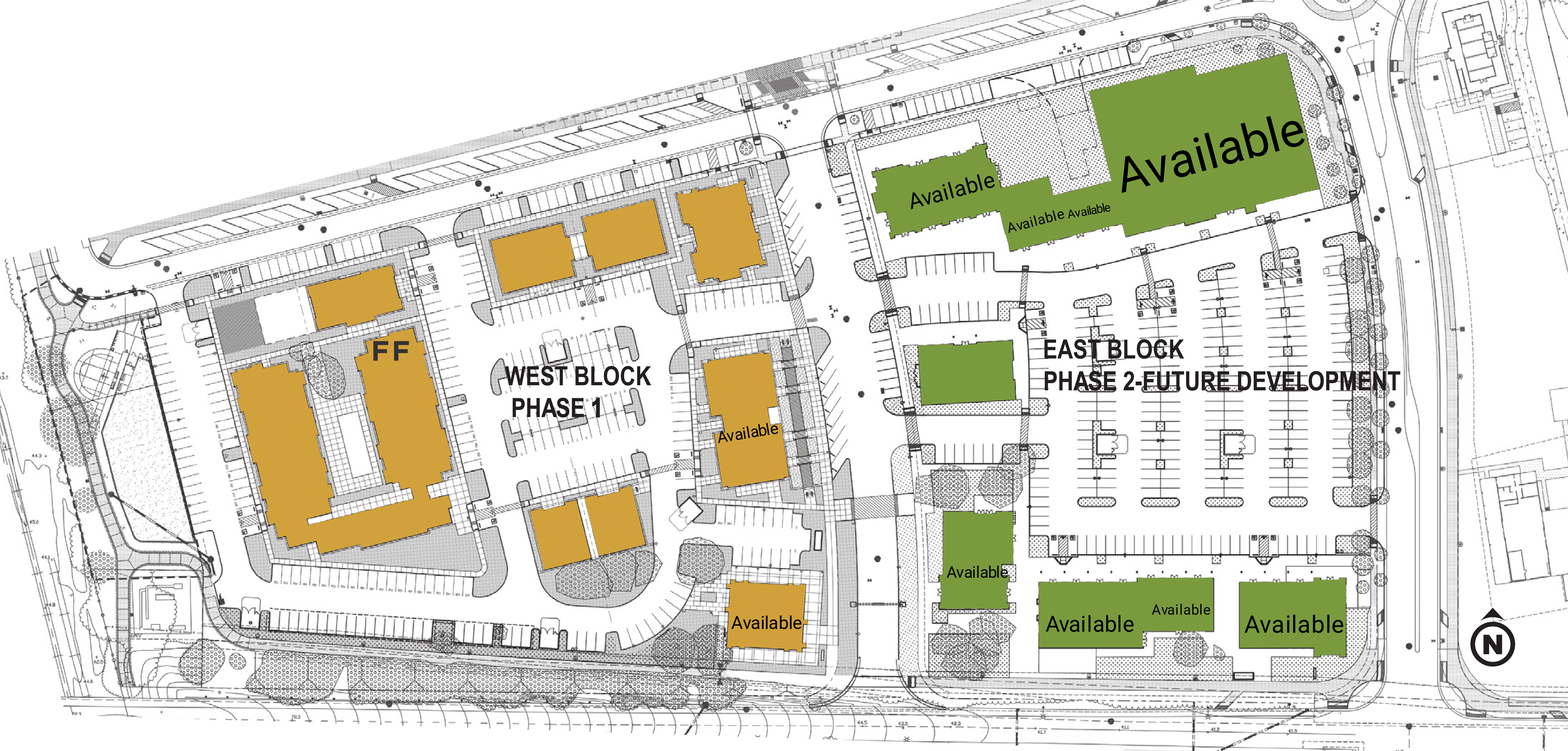 The Cannery : site plan