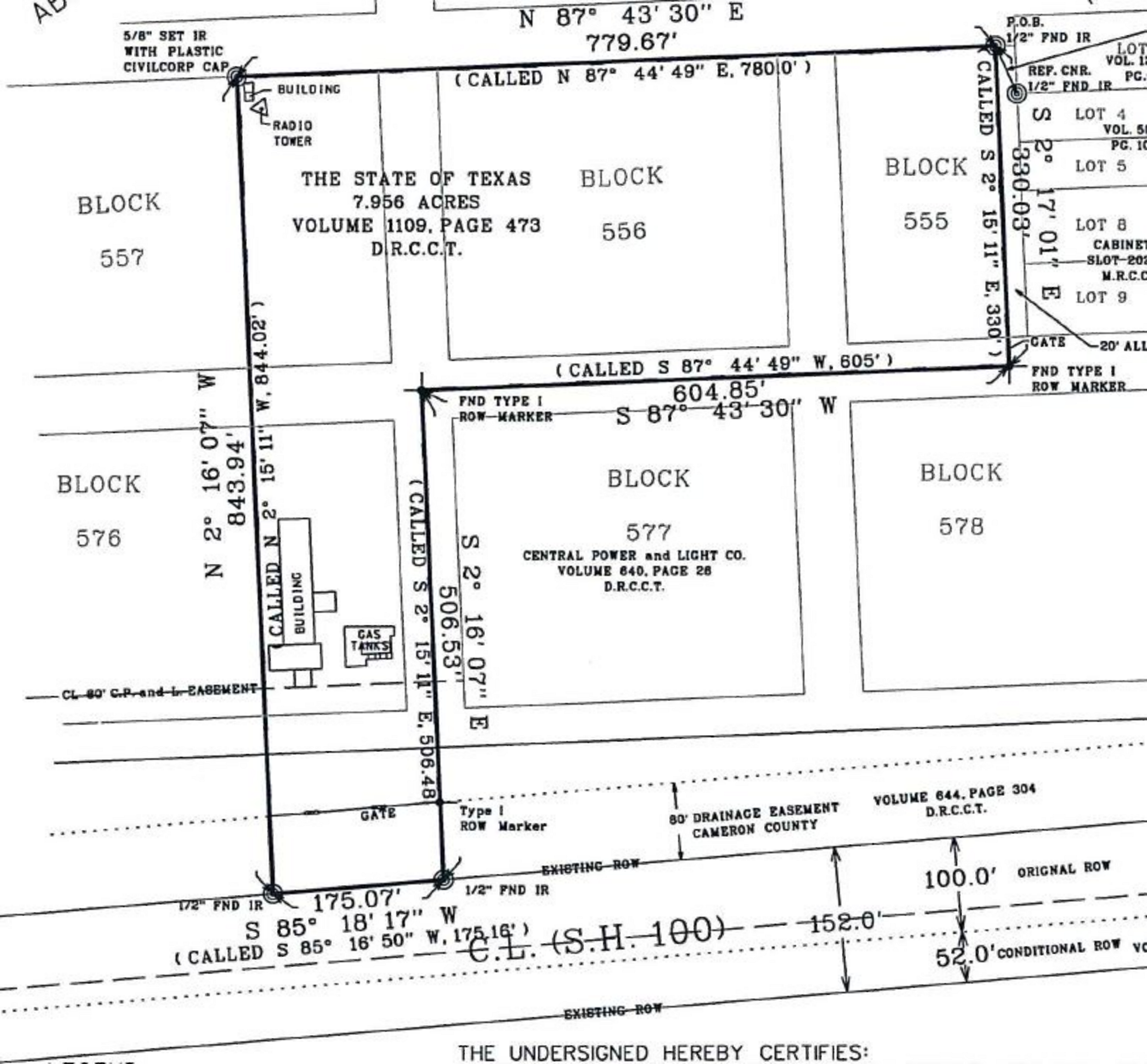 NWC Hibiscus Drive & F Avenue: site plan