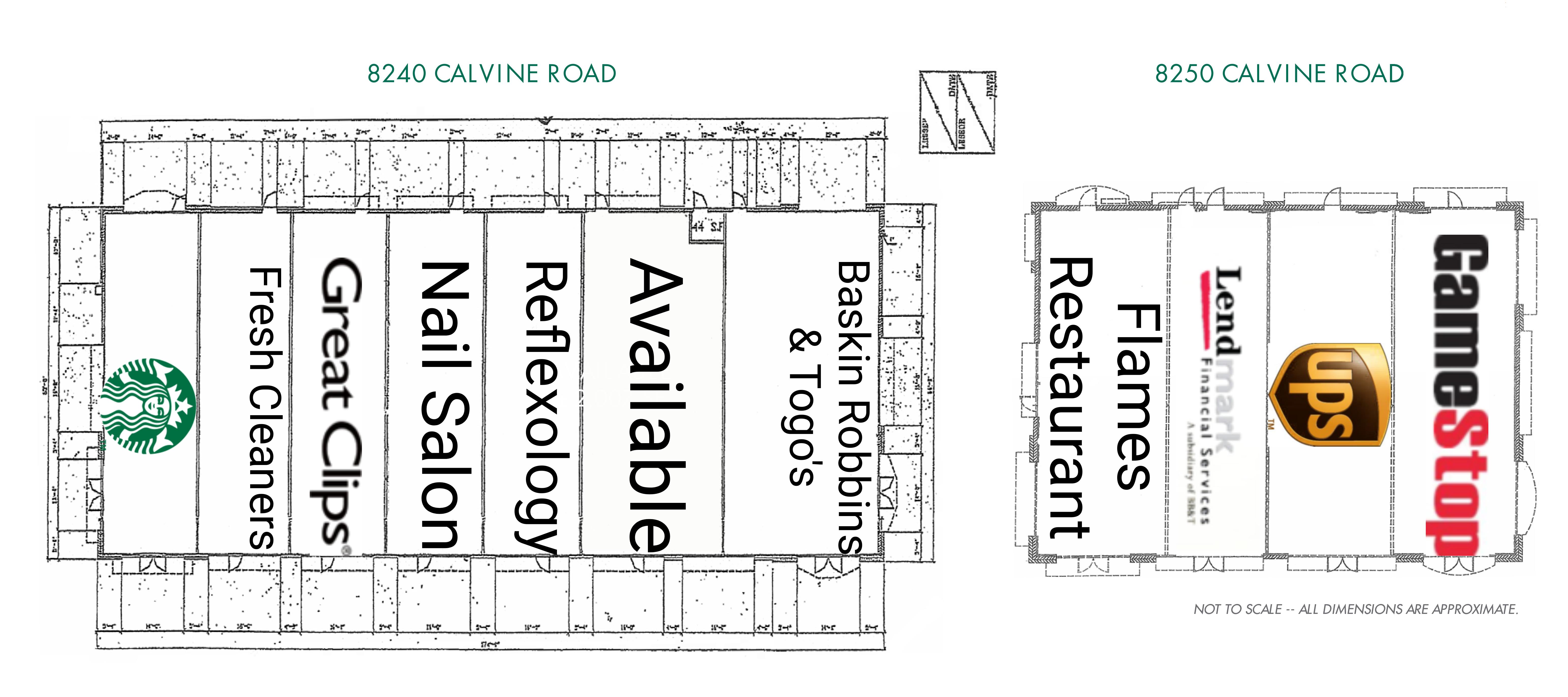 Calvine Crossing: site plan