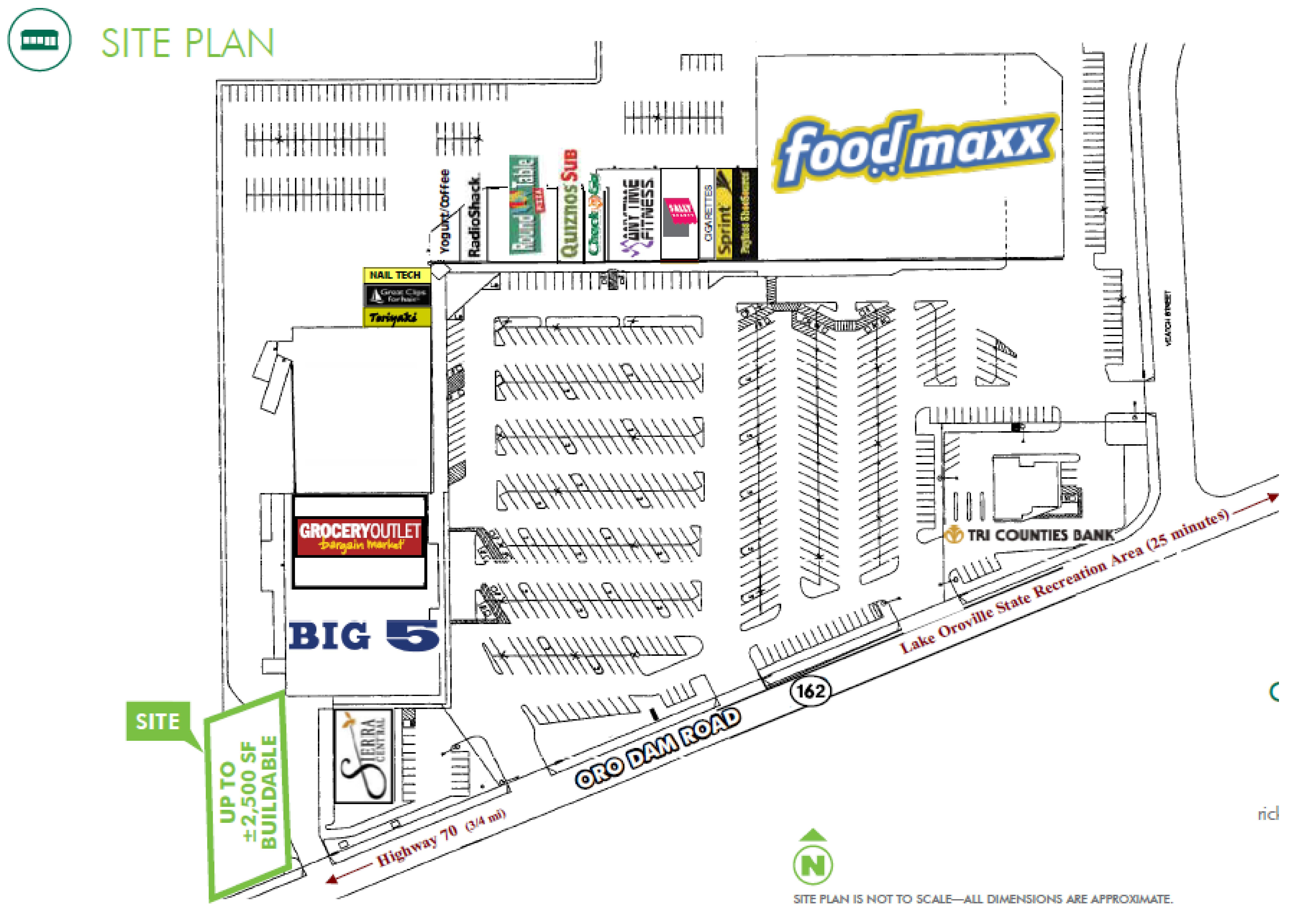 High Identity Retail Land: site plan