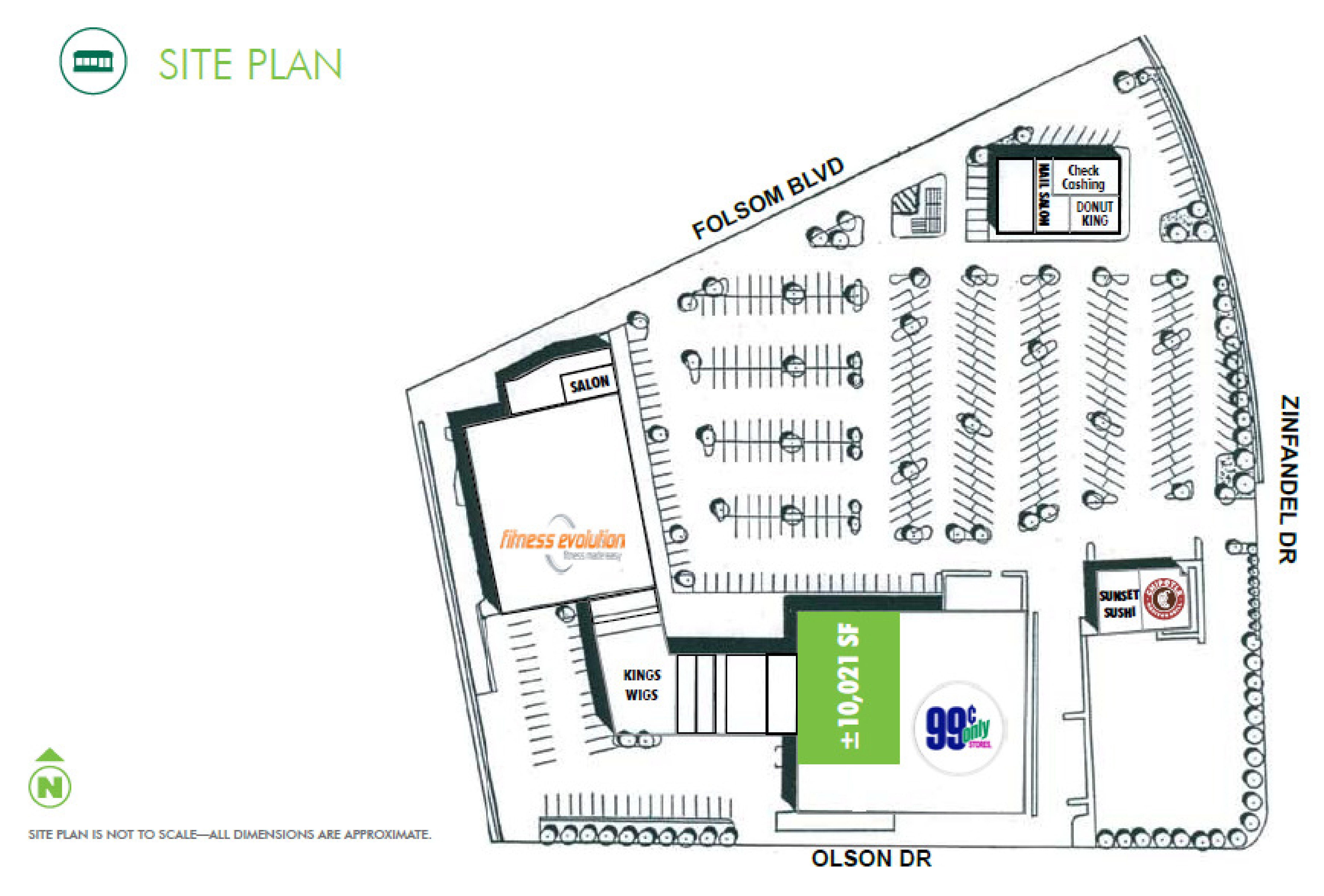 Ross Plaza: site plan