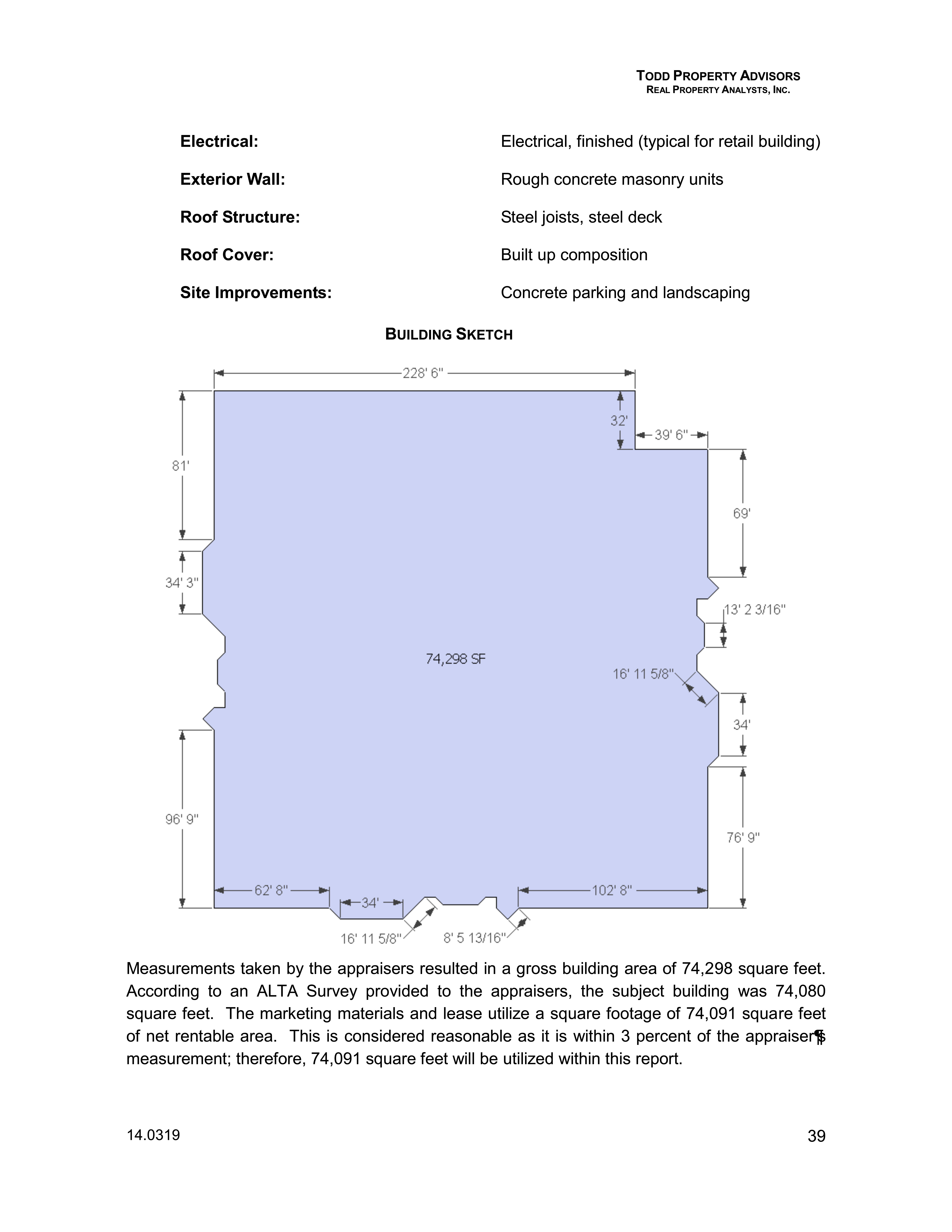300 S Plano Rd: site plan