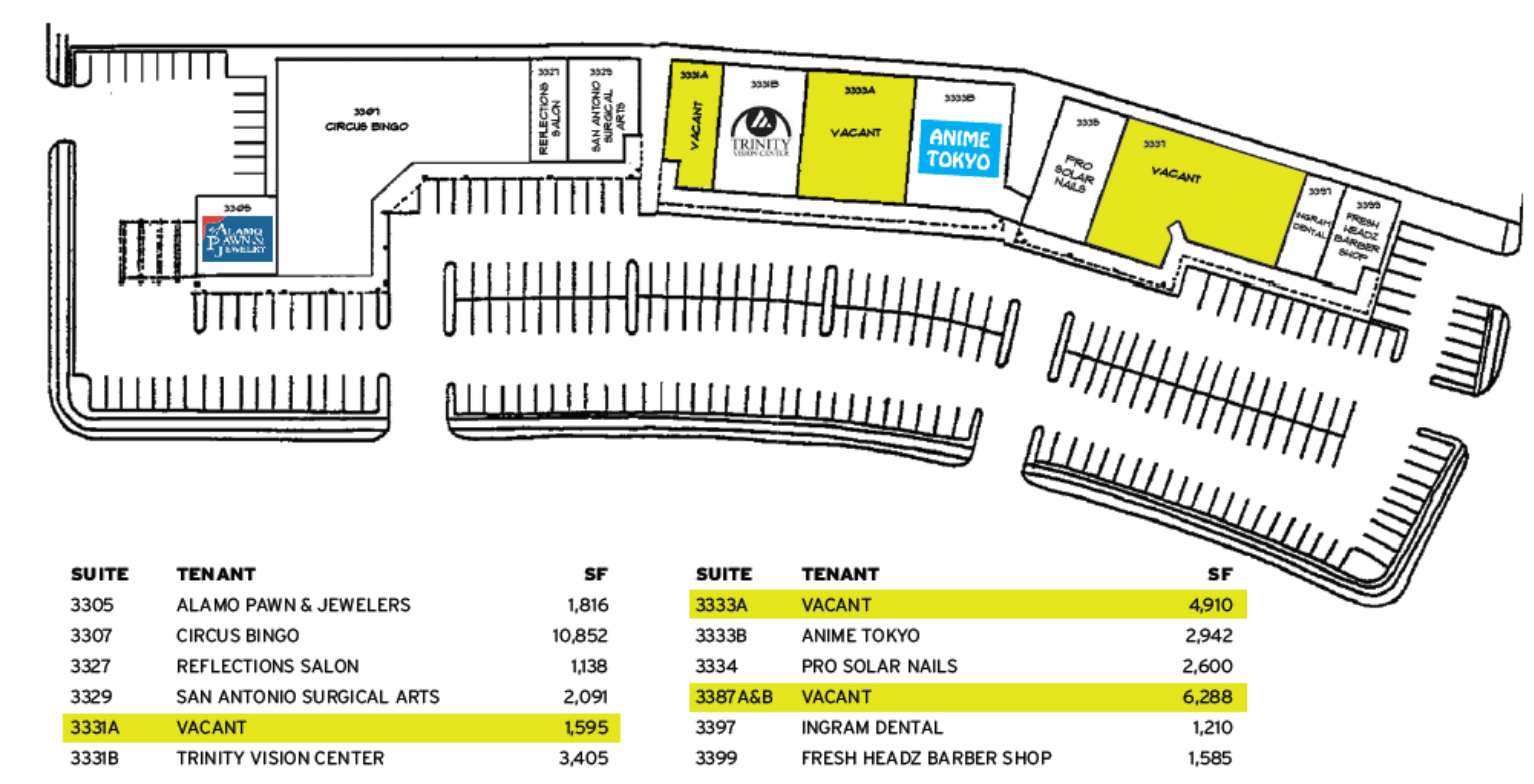 Northwestern Square: site plan