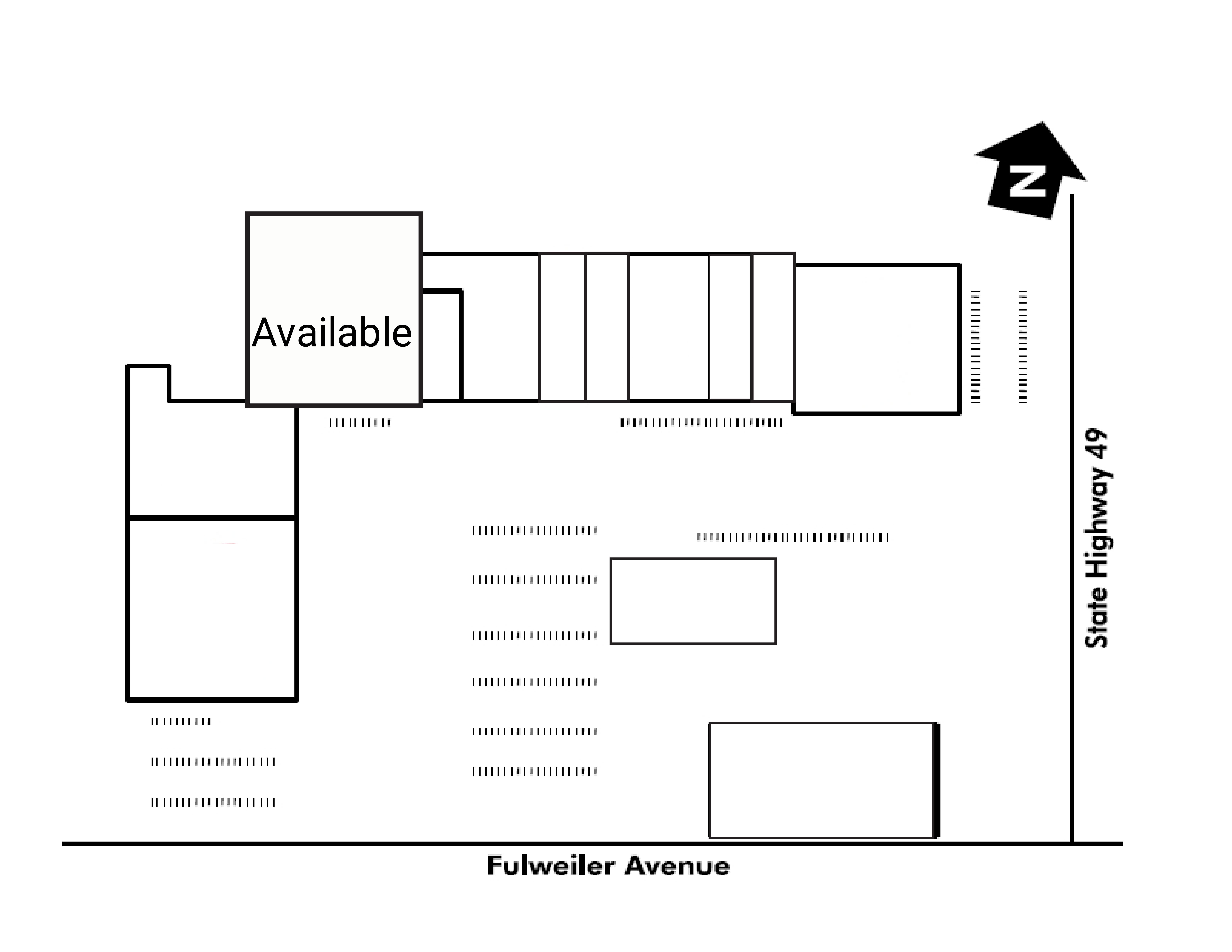 Sierra Elm Shopping Center: site plan