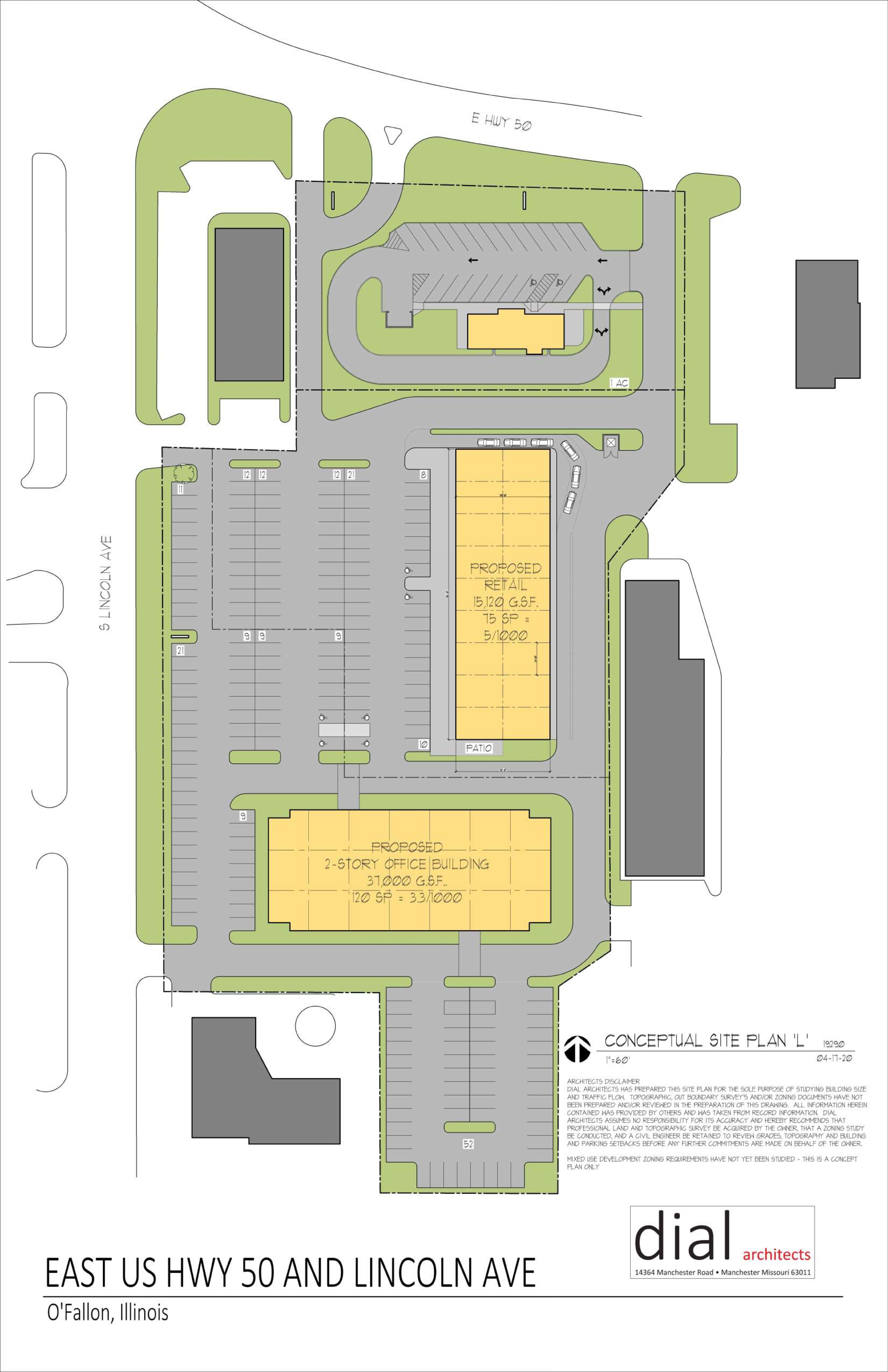 Southview Plaza: site plan