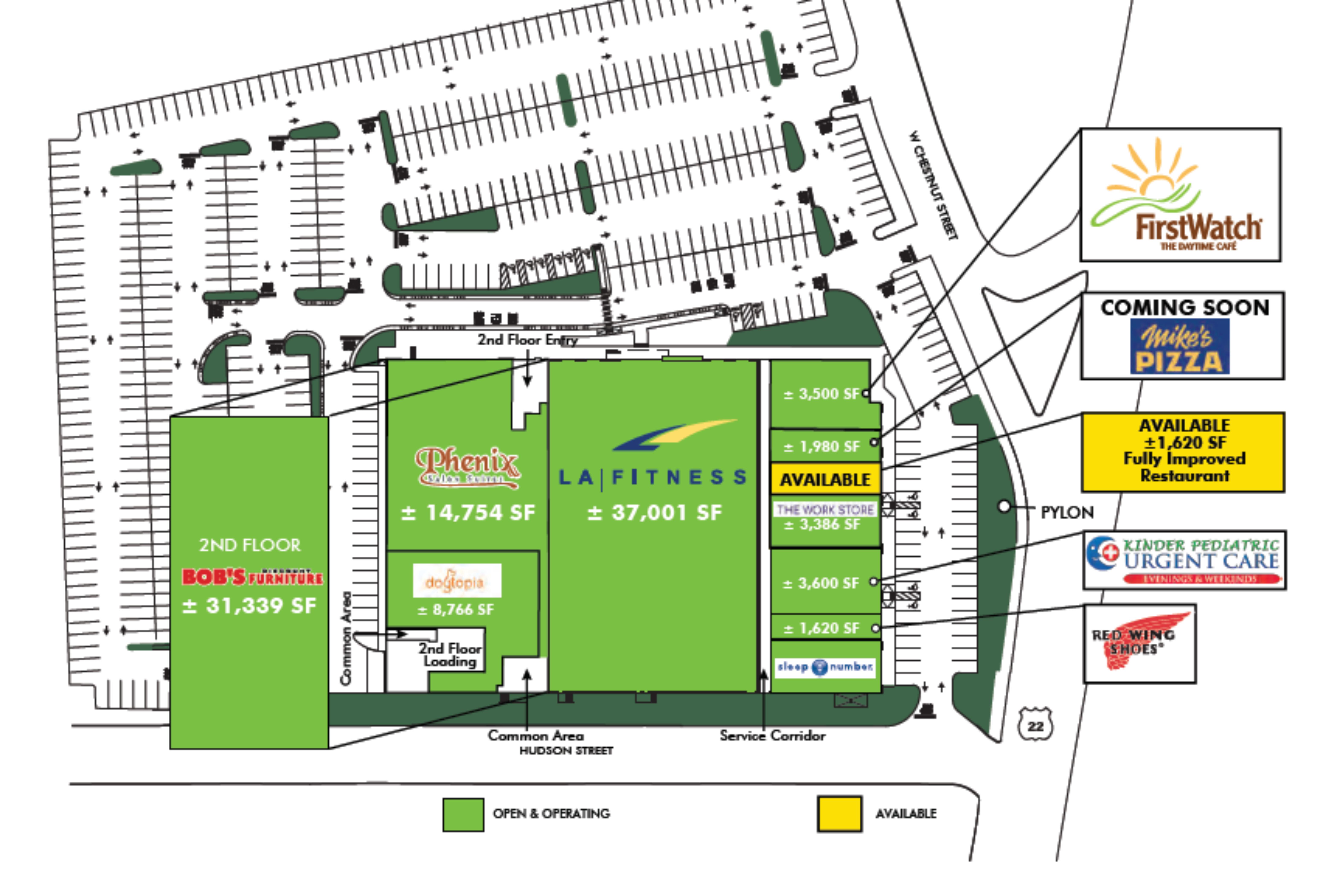 Greenleaf at Union: site plan