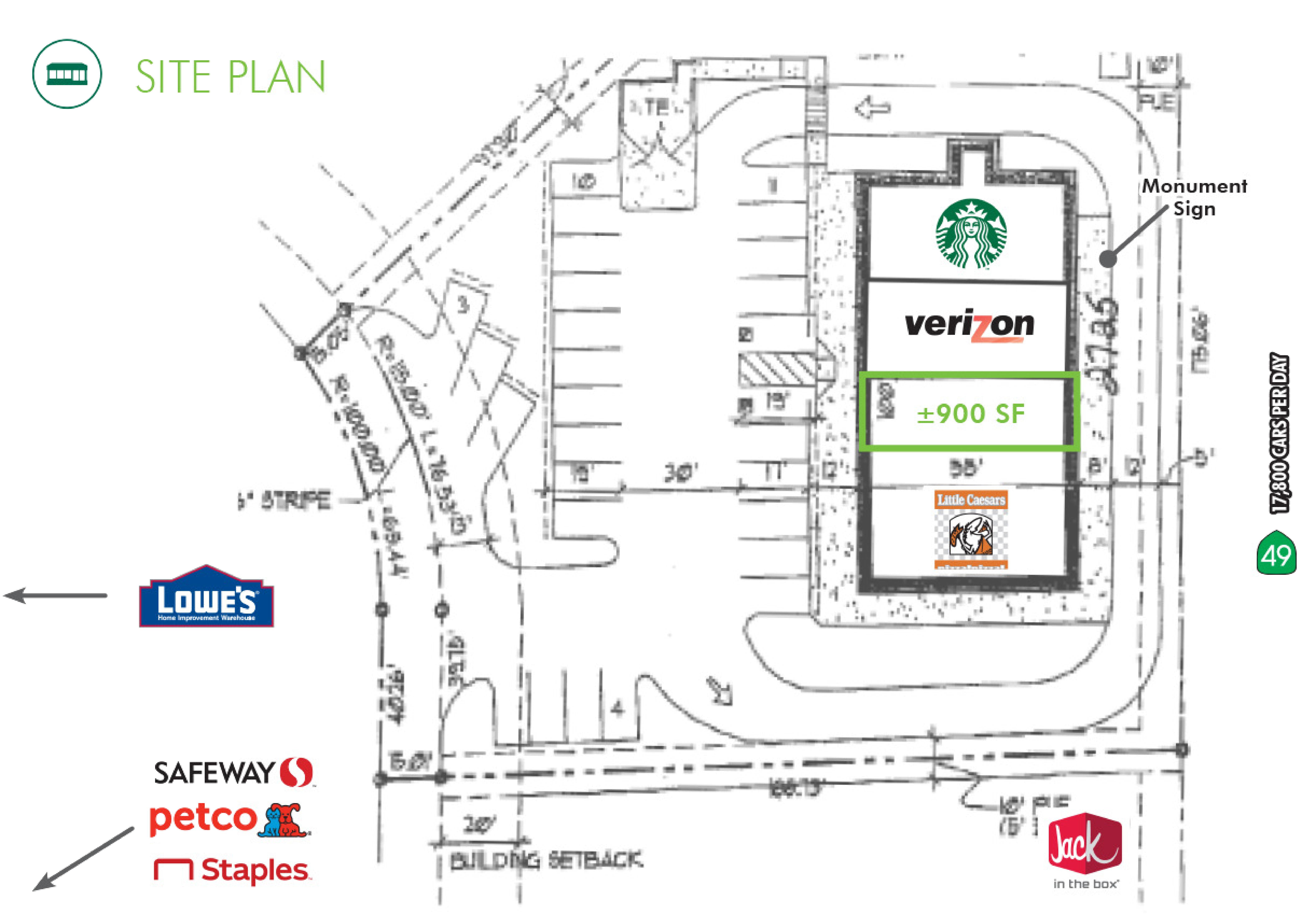 11248 Old Mill Lane: site plan
