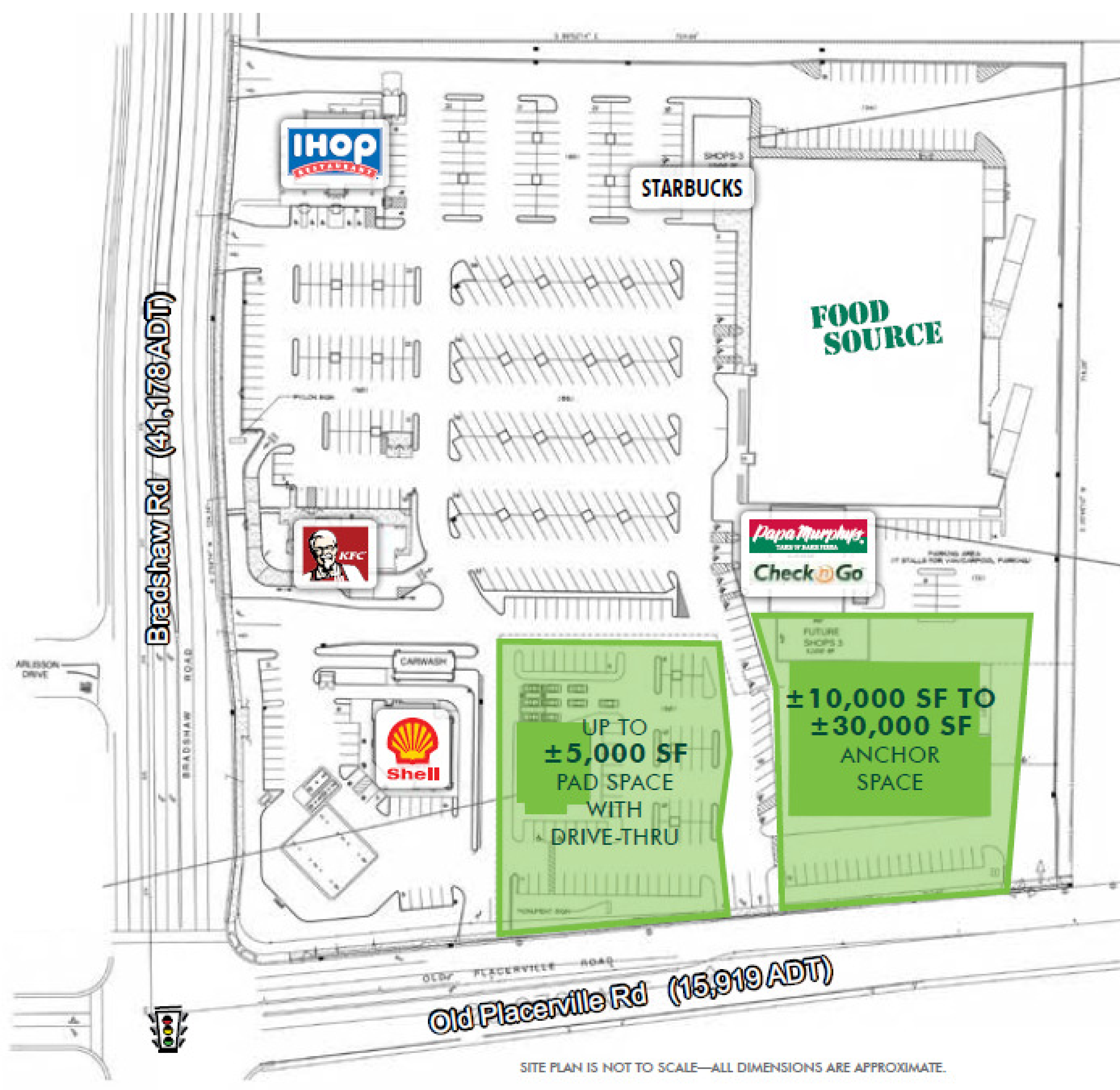 Bradshaw Marketplace: site plan