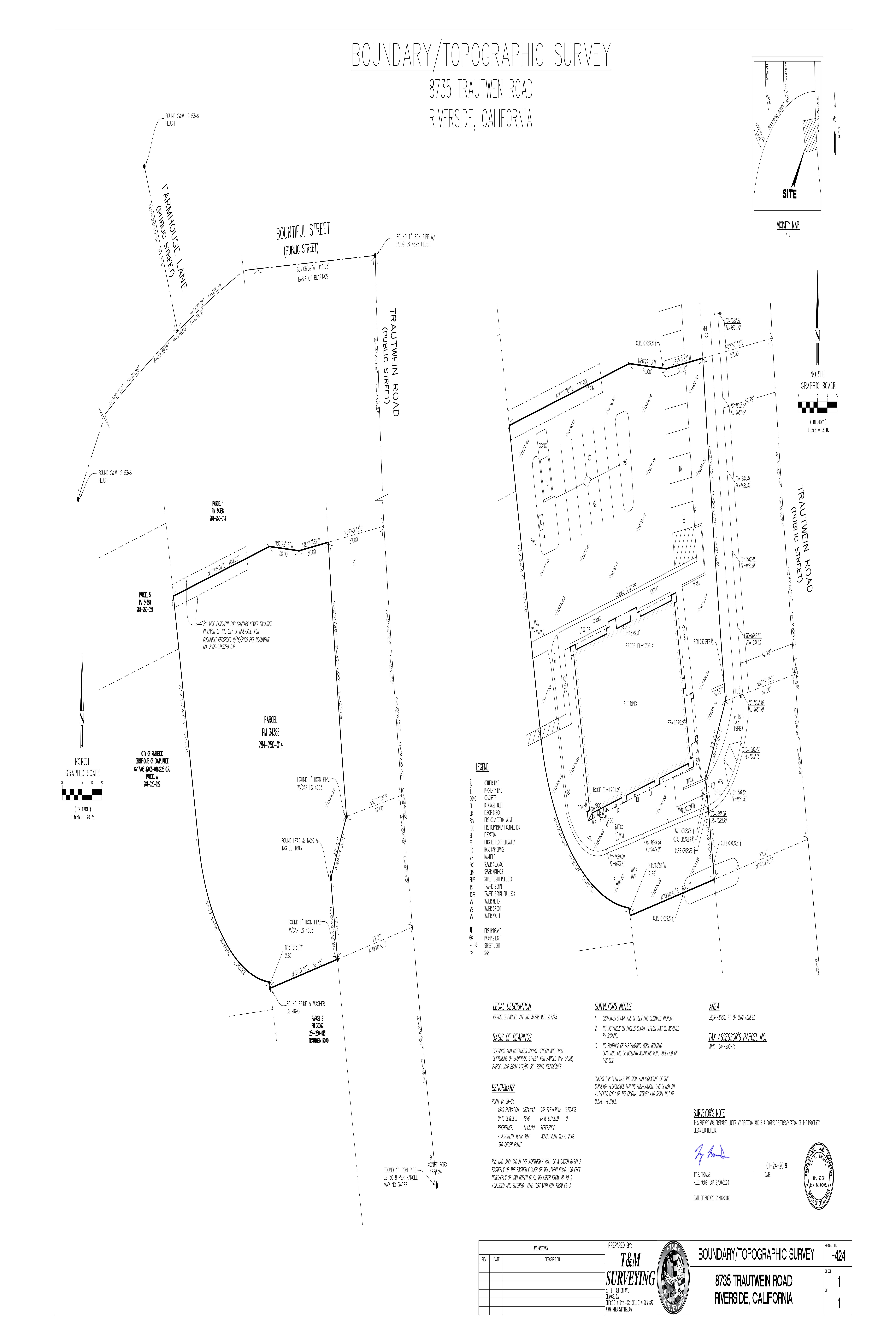 Orangecrest Towne Center - Riverside: site plan