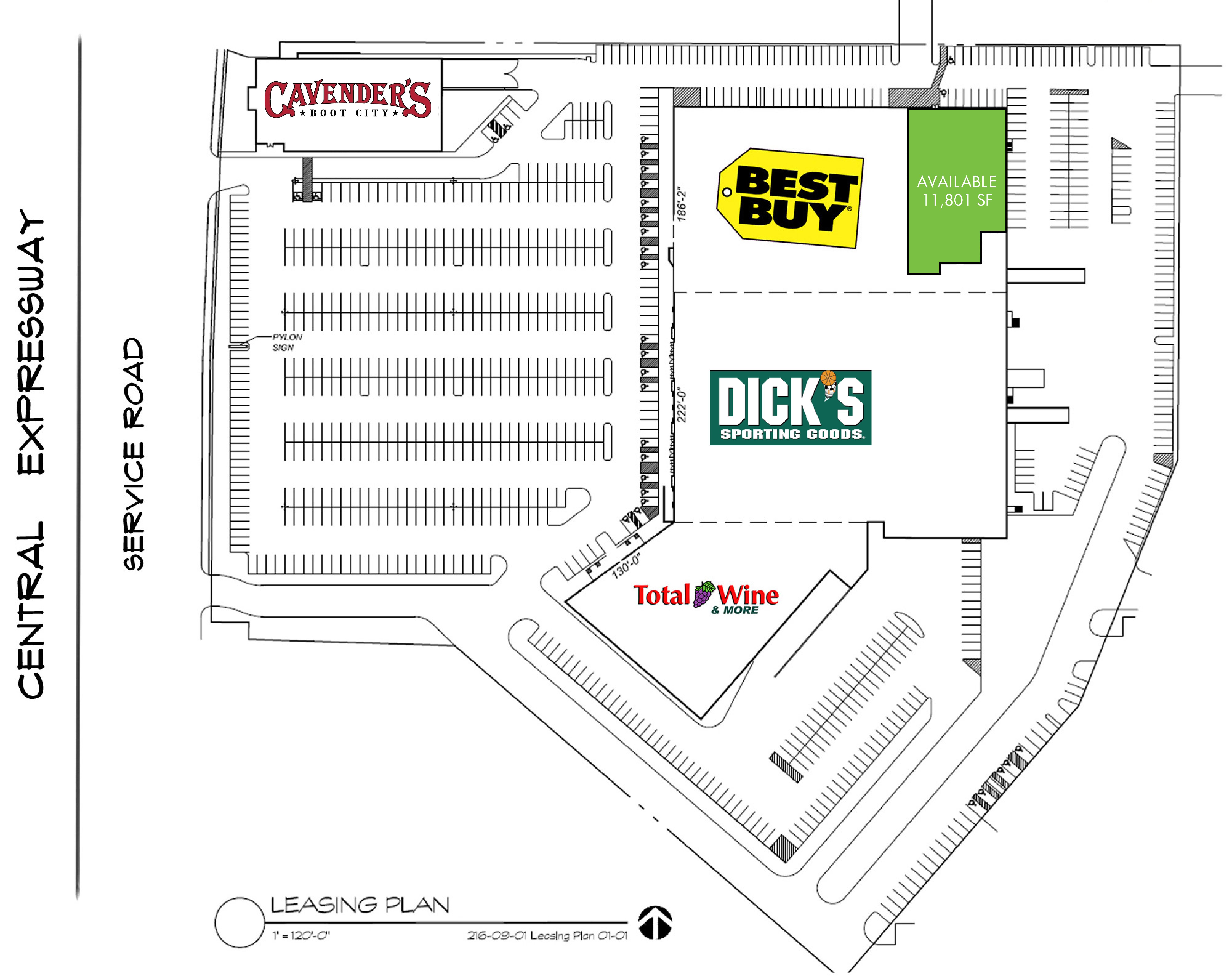 Best Buy Plaza: site plan