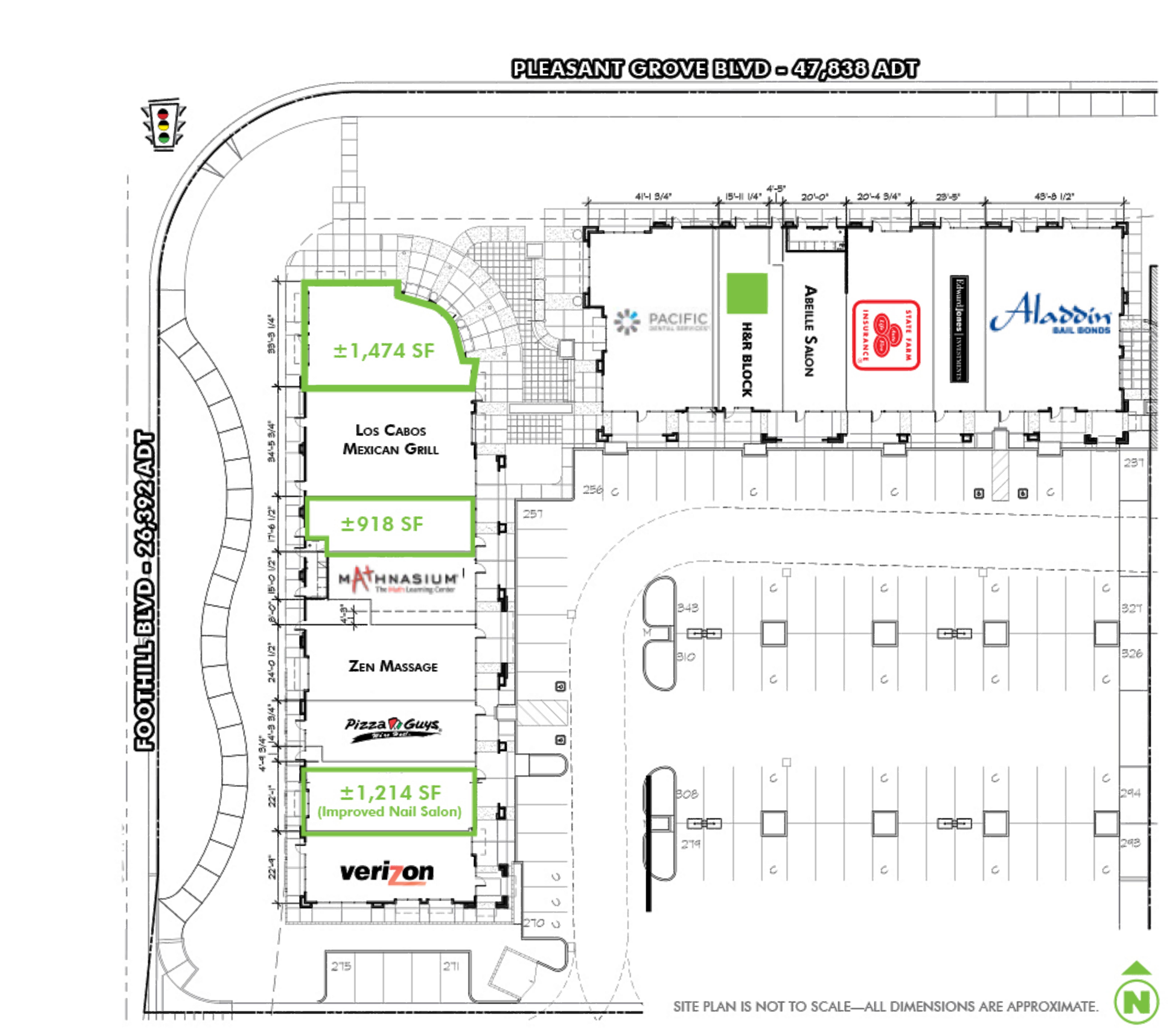 Pleasant Grove Pavilion: site plan