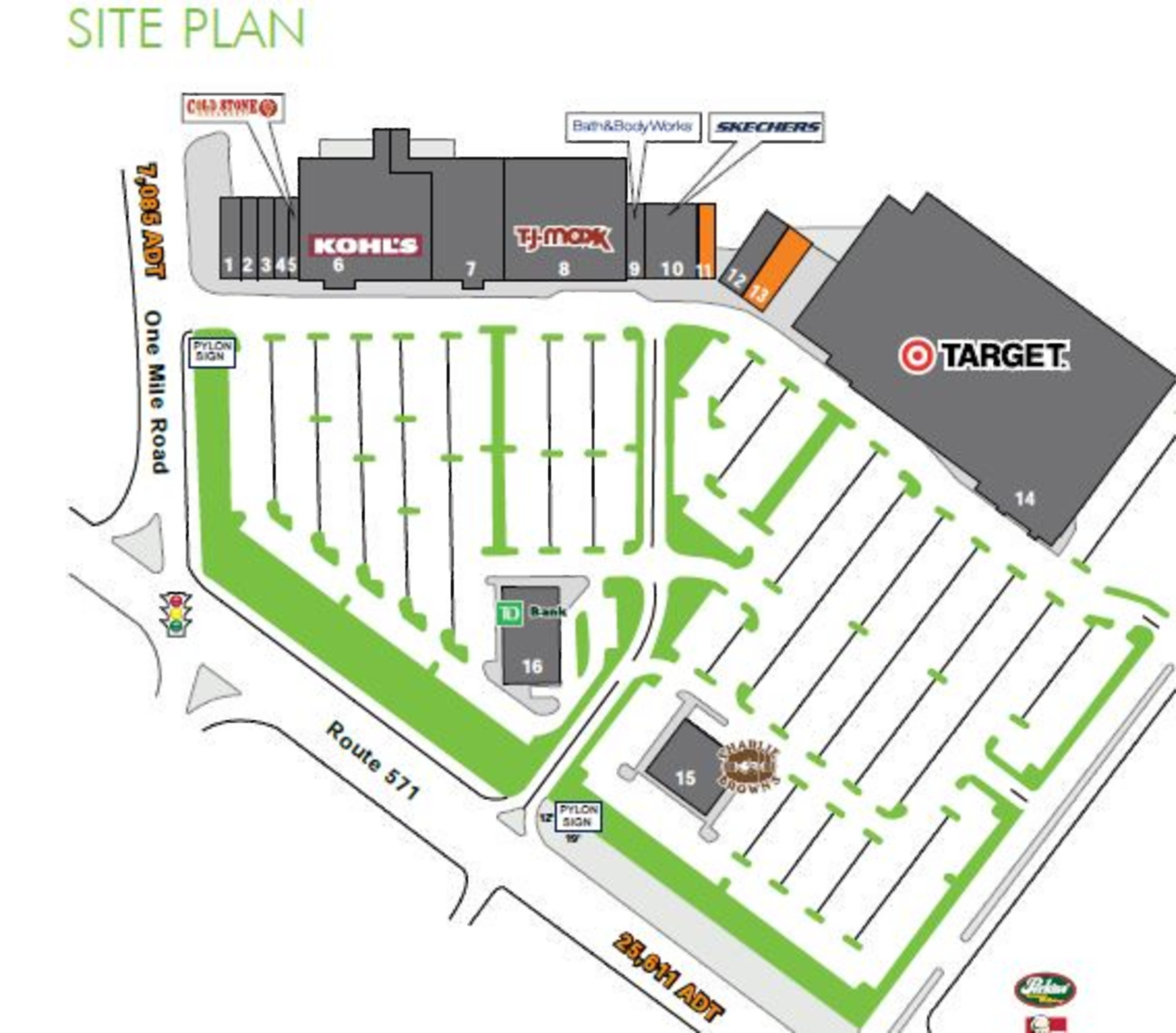 East Windsor Village: site plan