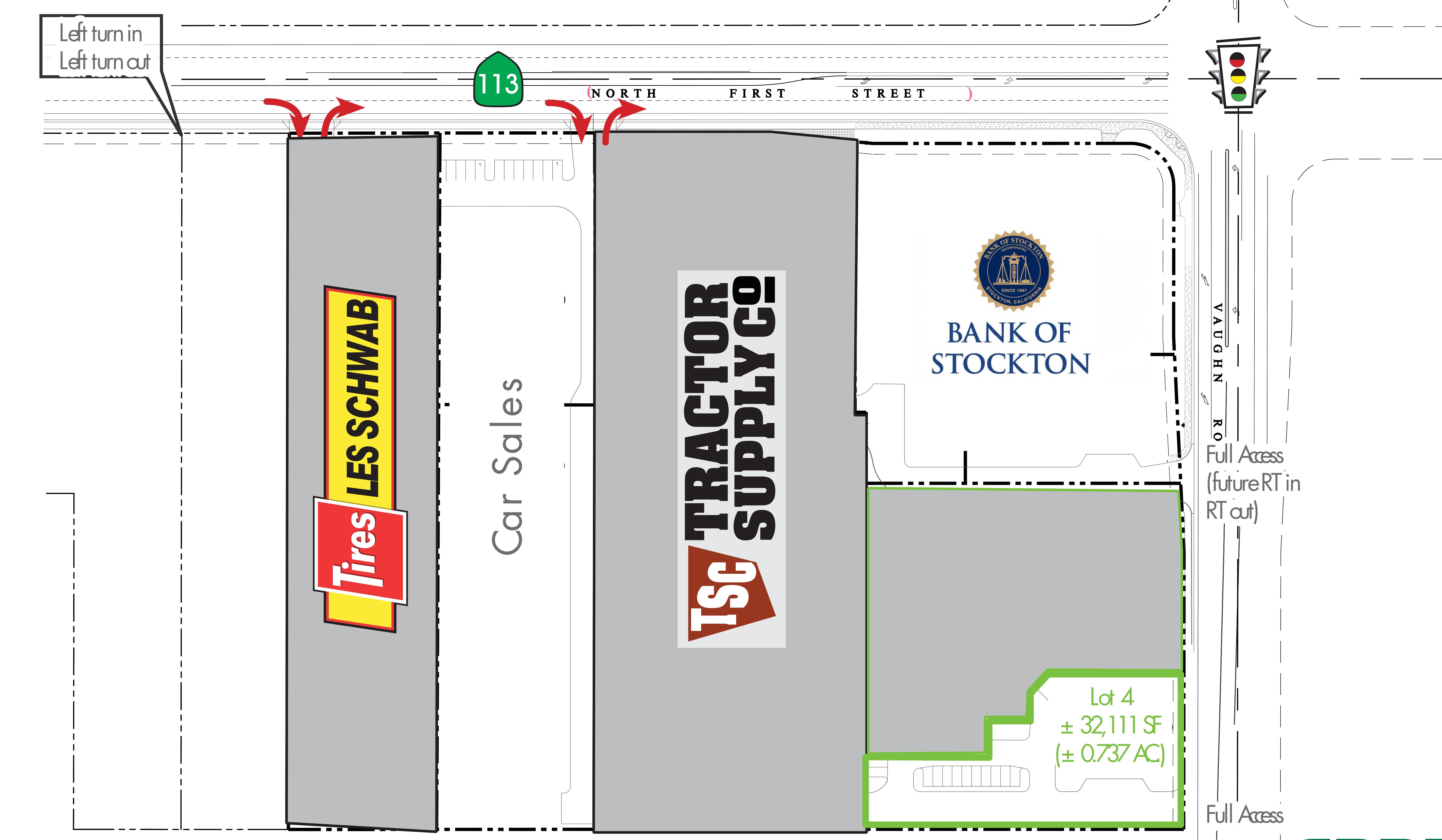 Dixon Commerce Center: site plan