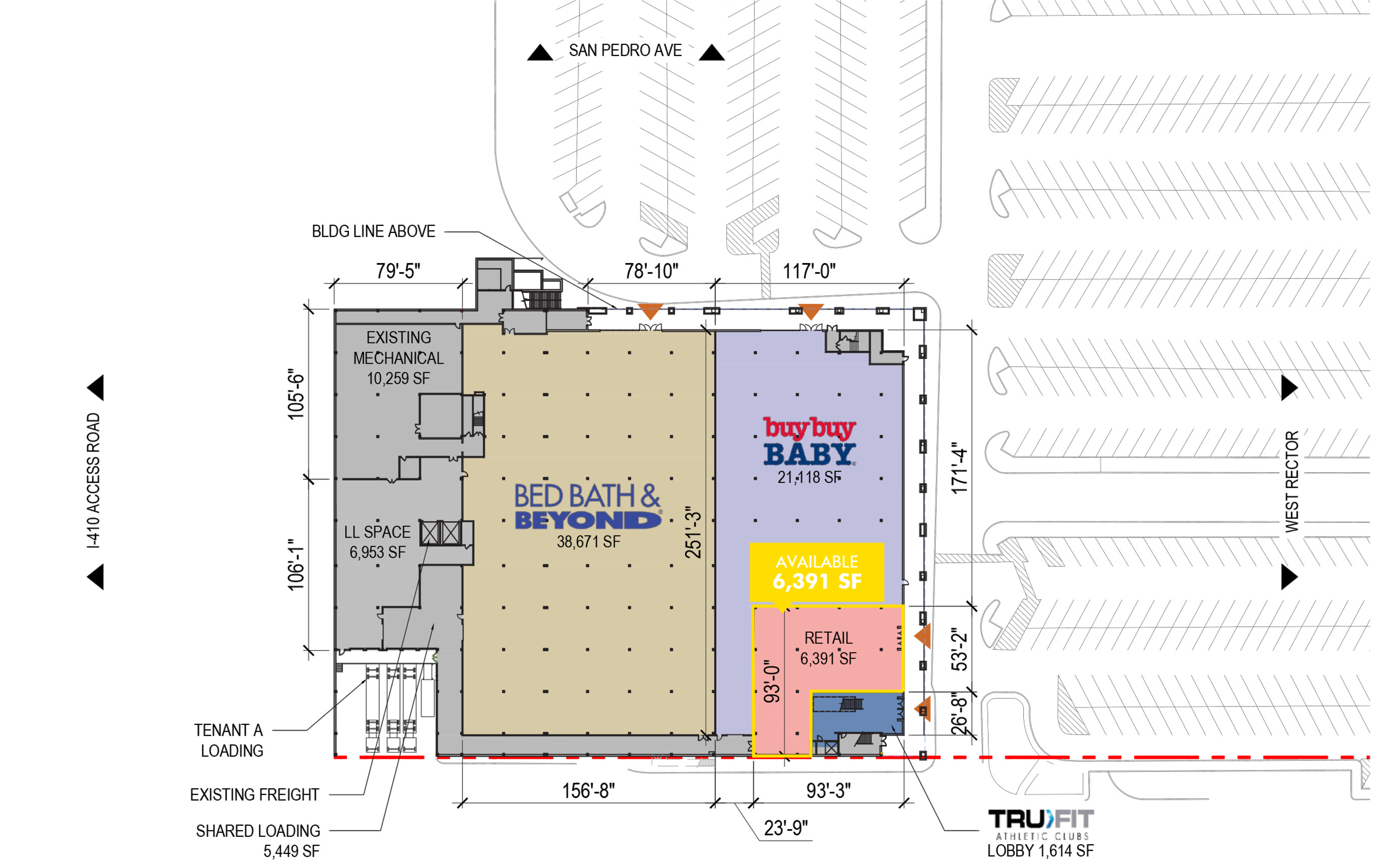 201 Central Park: site plan