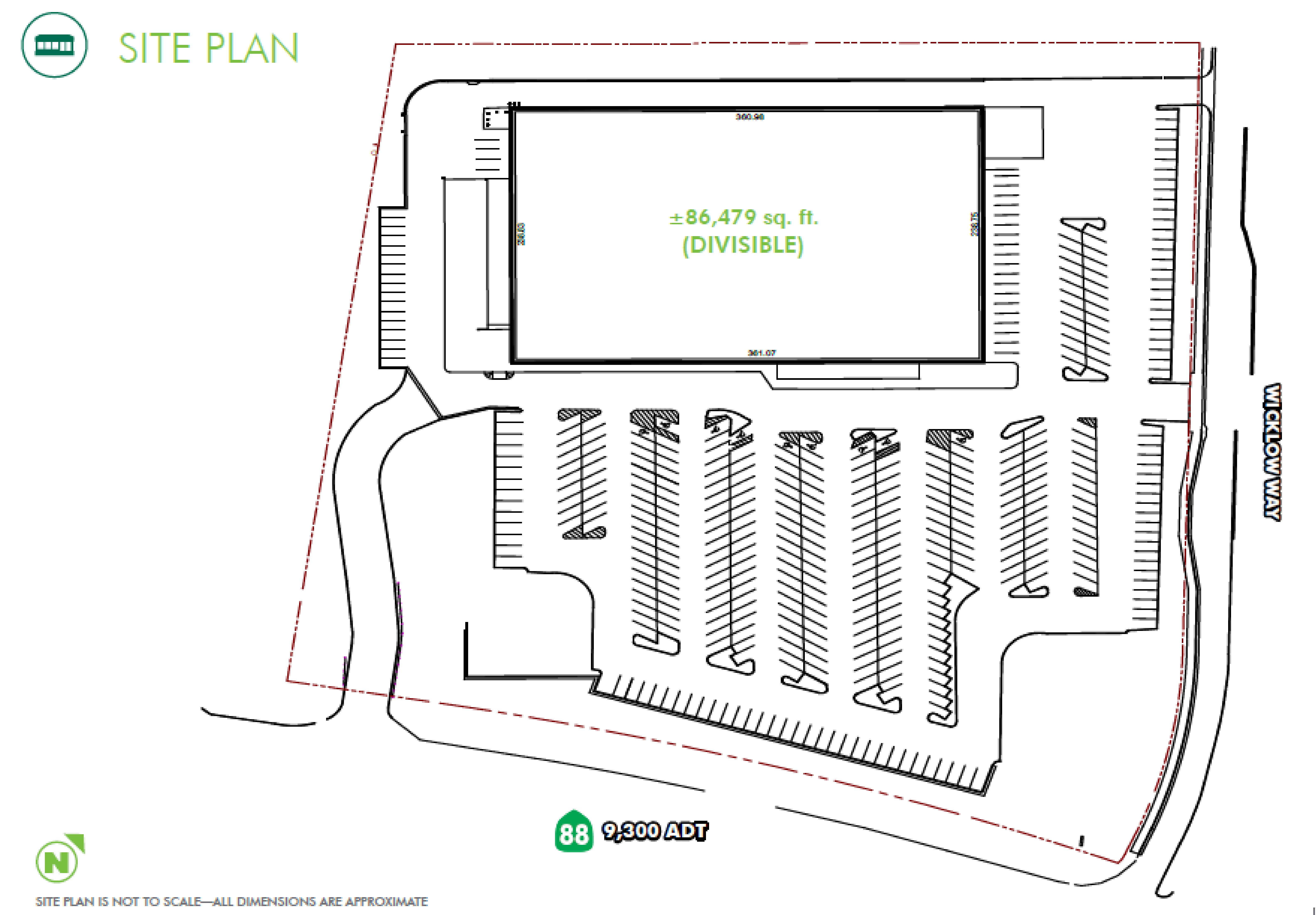 Former K-Mart: site plan