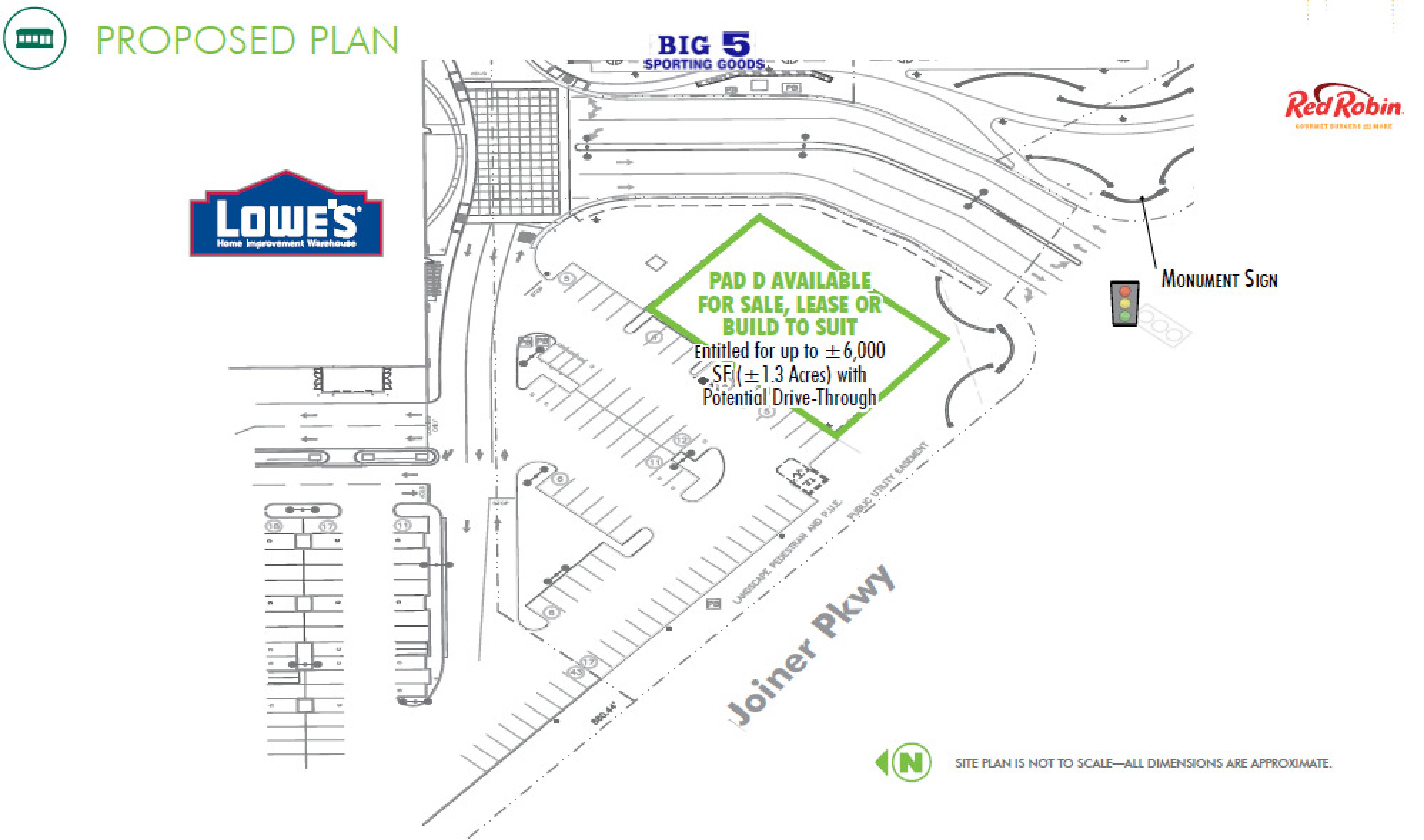 Parkway Plaza: site plan
