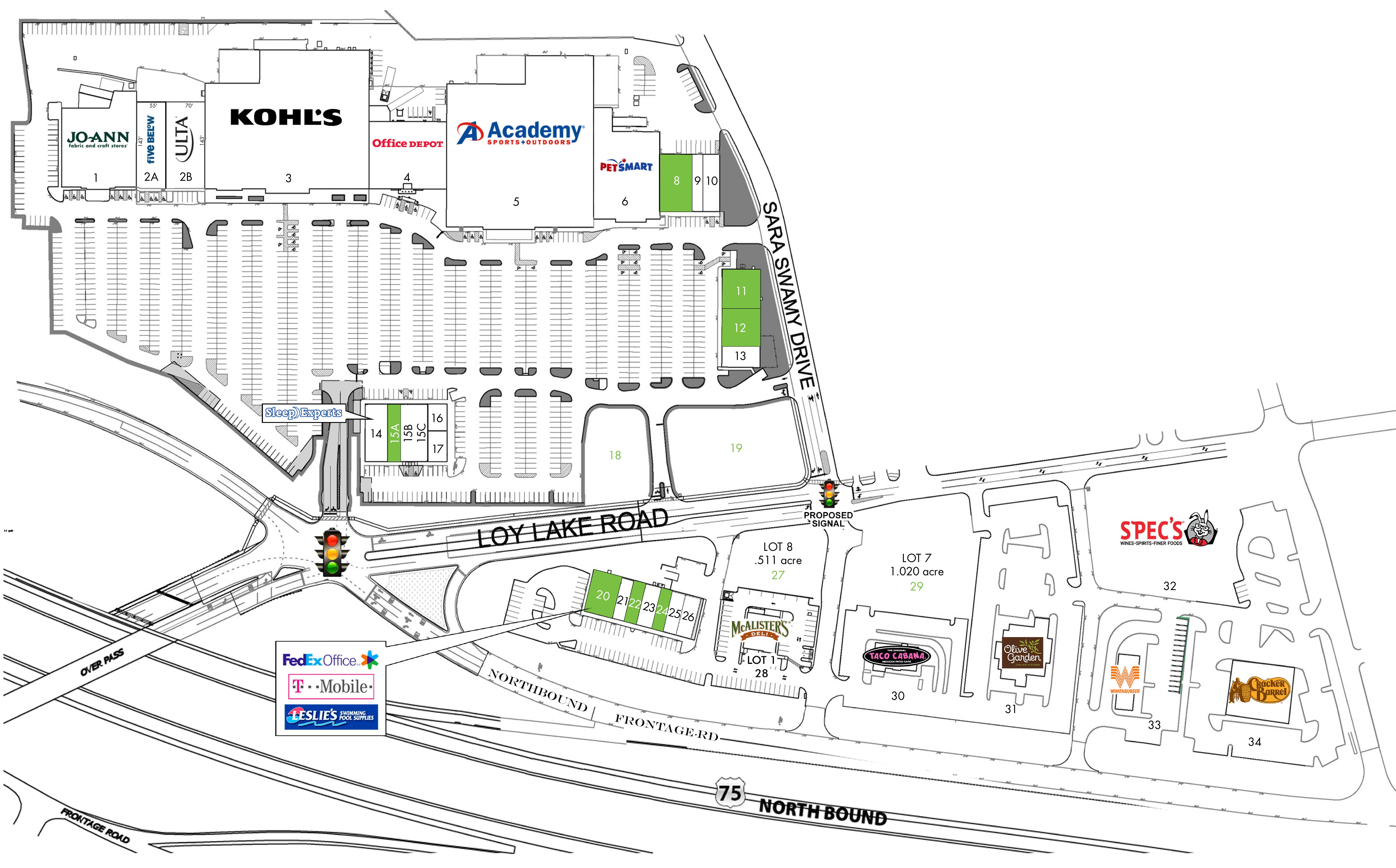 Sherman Commons: site plan