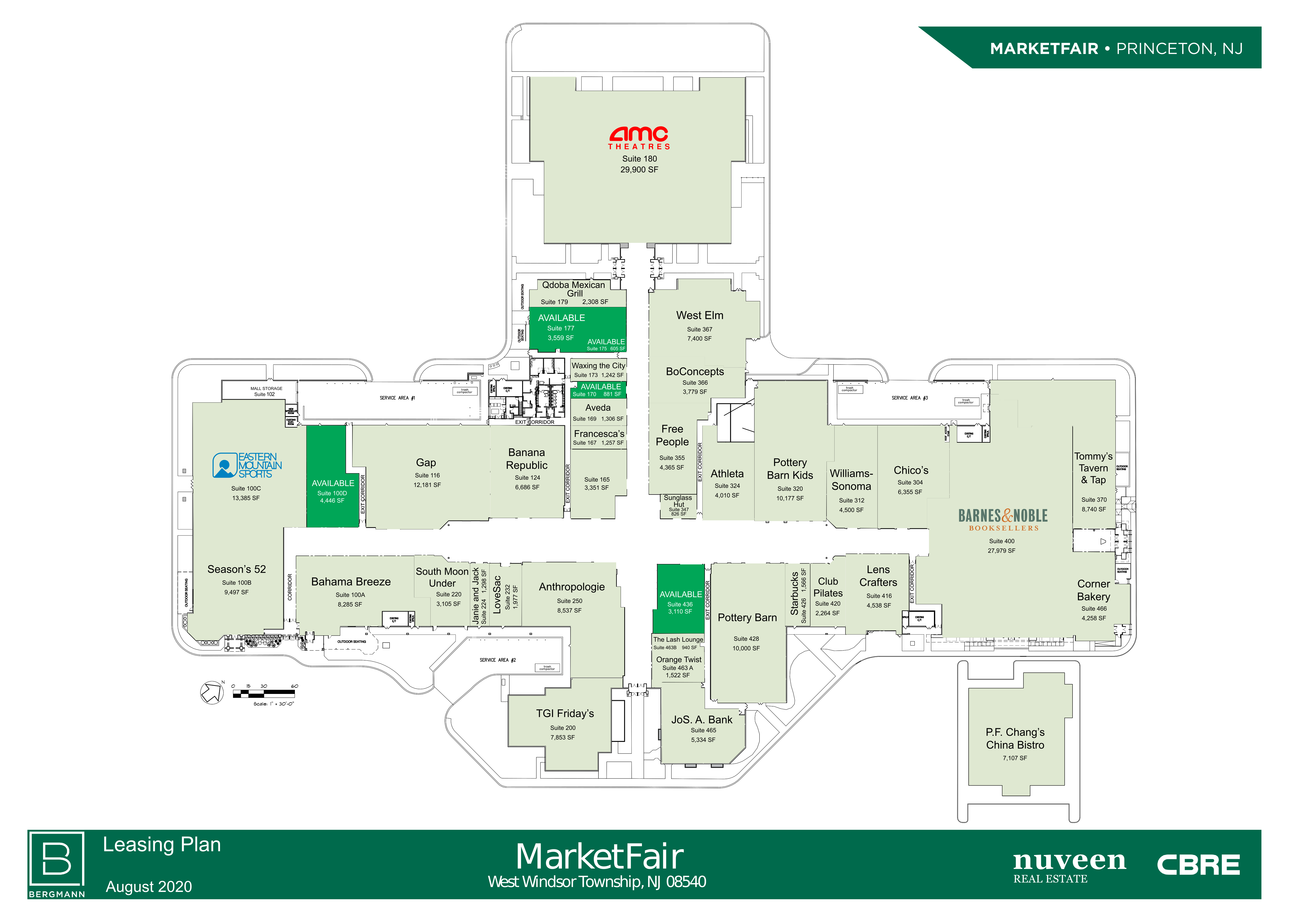 MarketFair: site plan