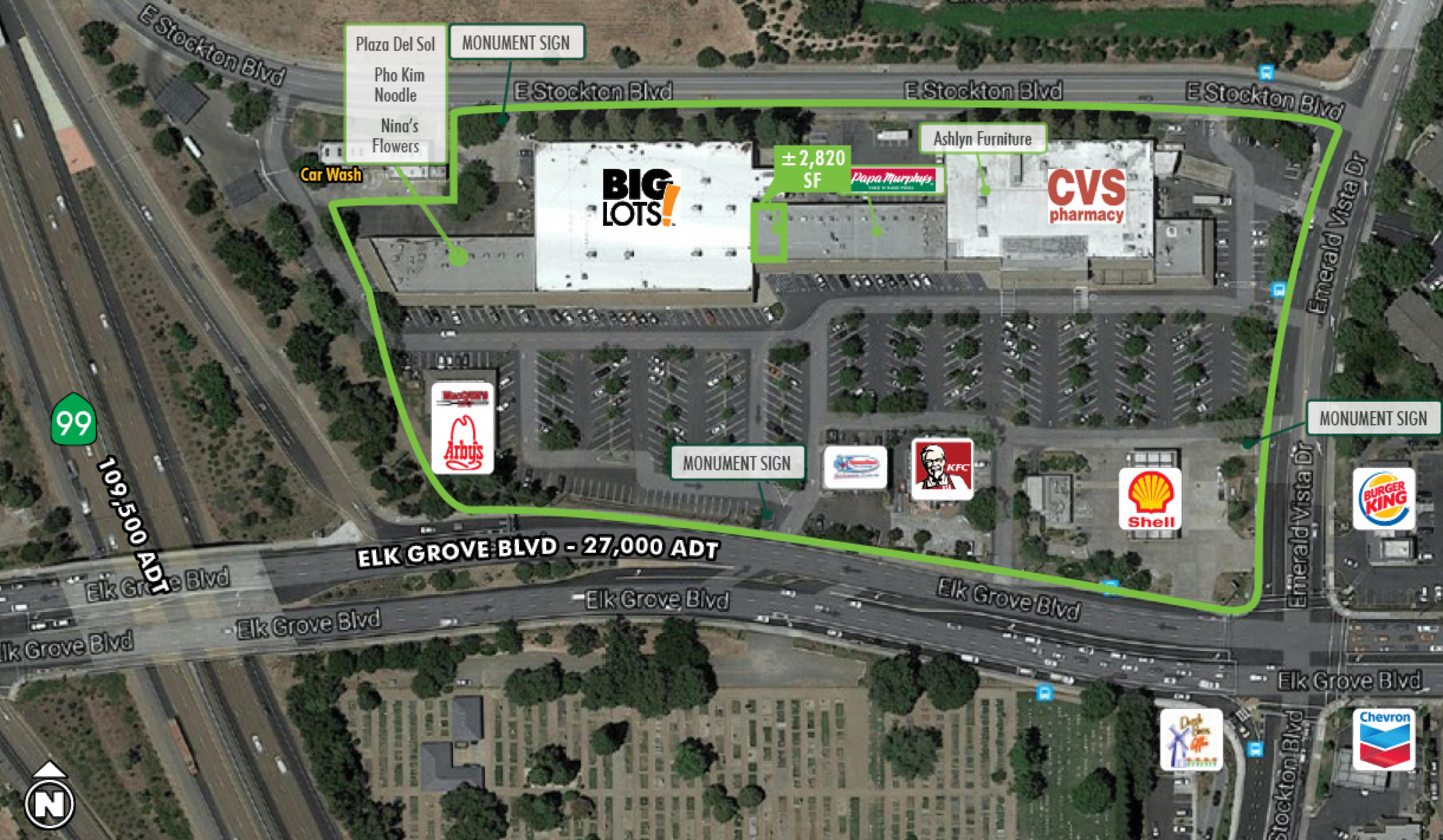 Elk Grove Village: site plan