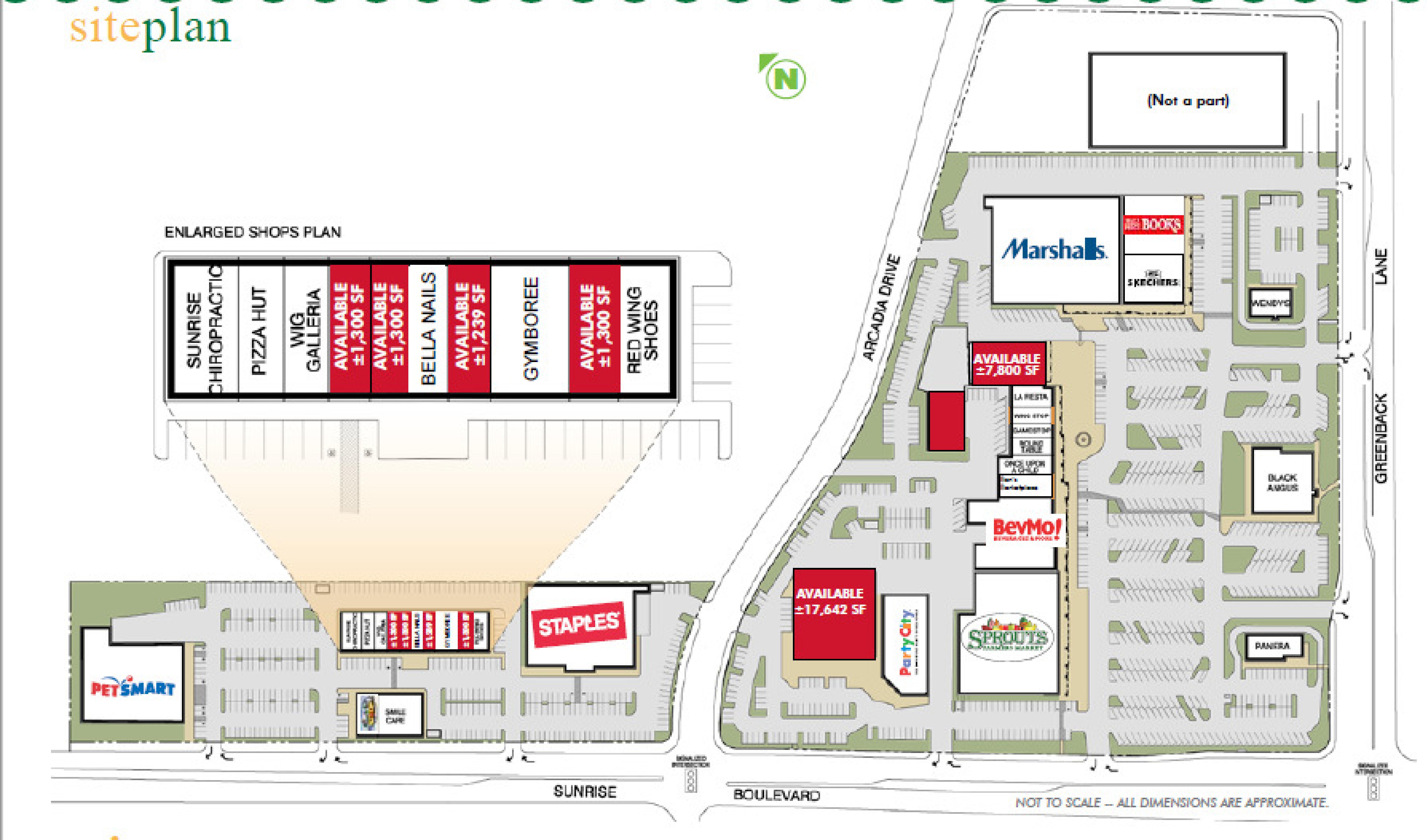 Citrus Town Center: site plan