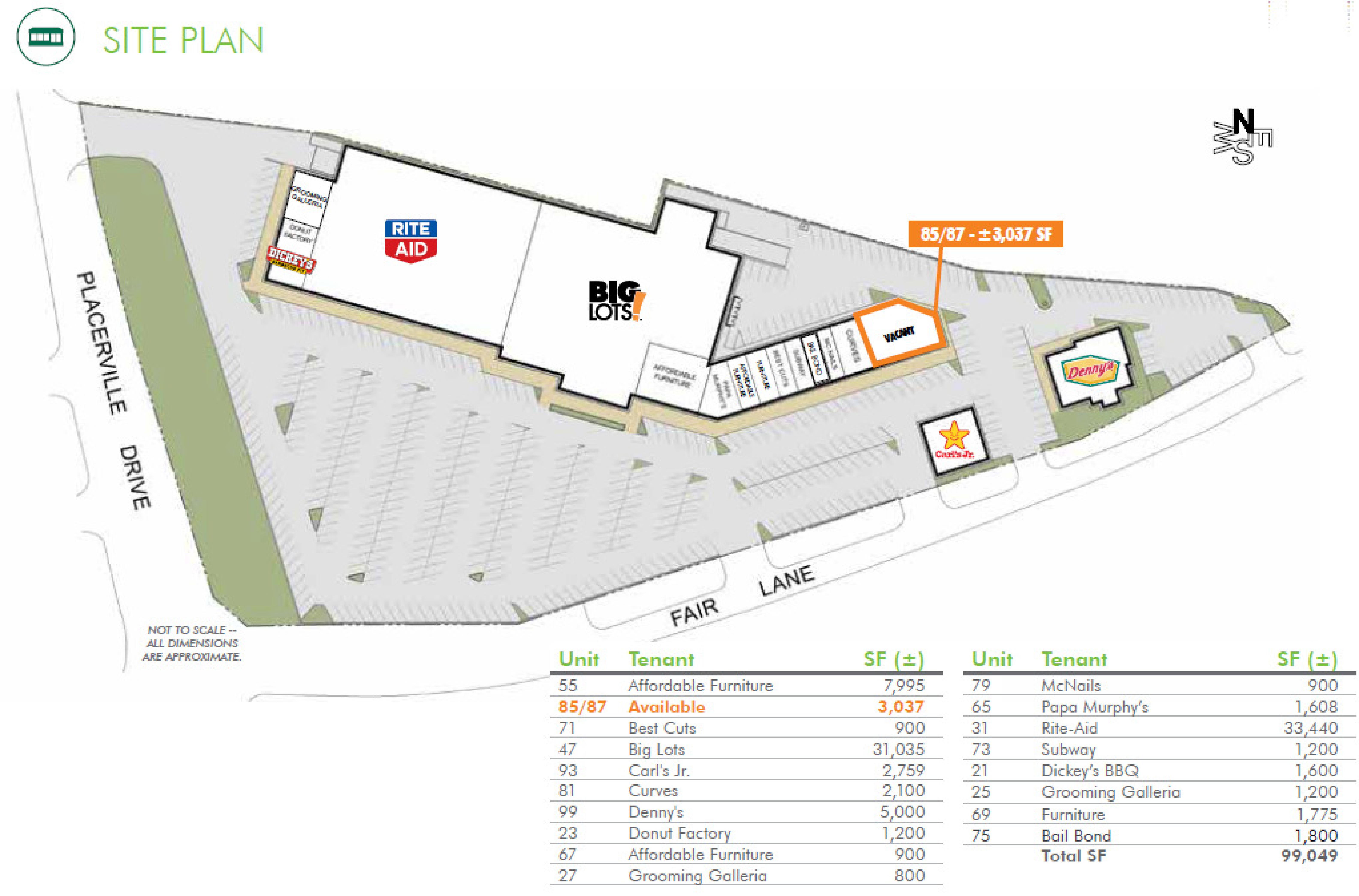 County Fair: site plan