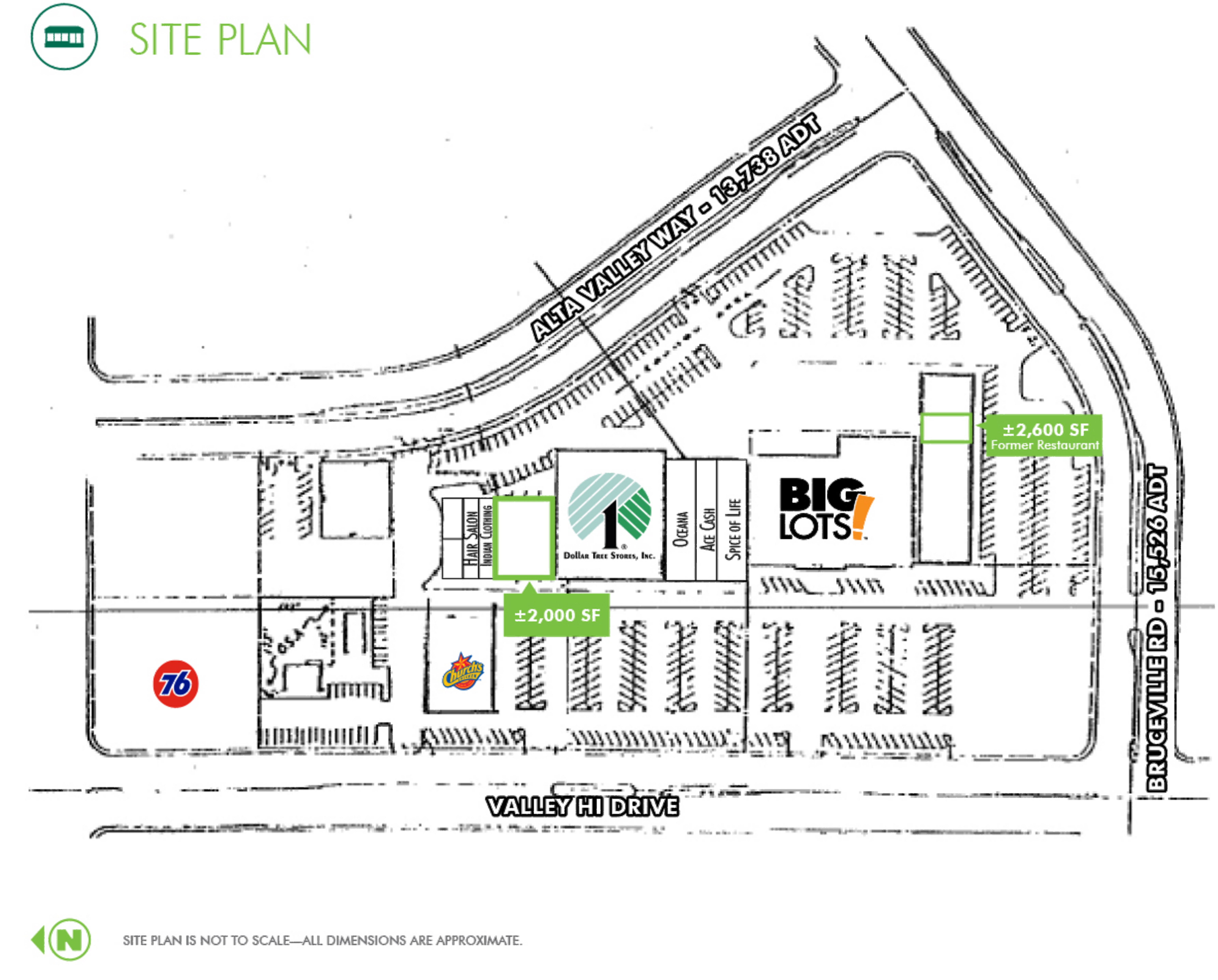 Valley Hi Village: site plan