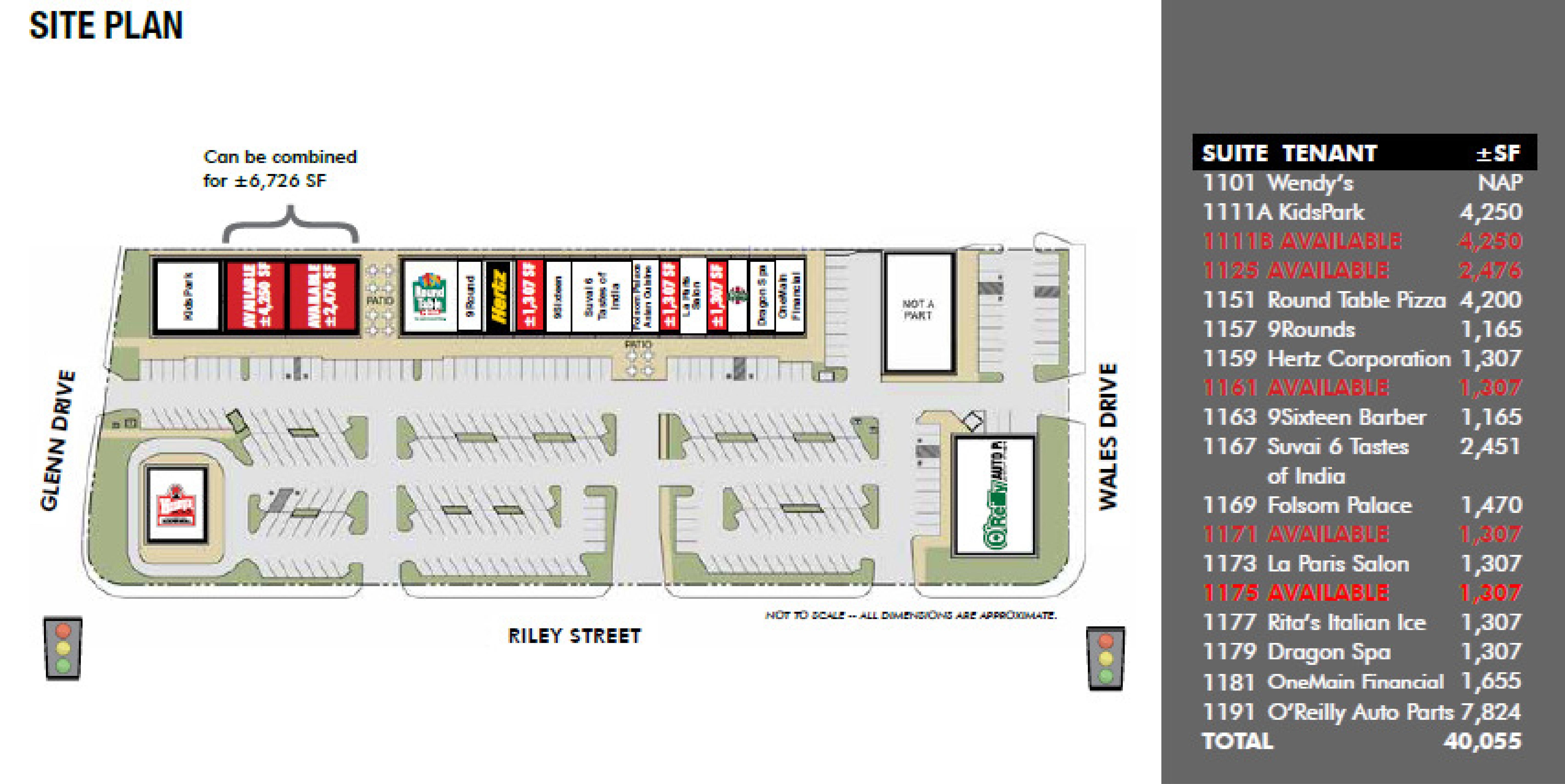 Folsom Central: site plan