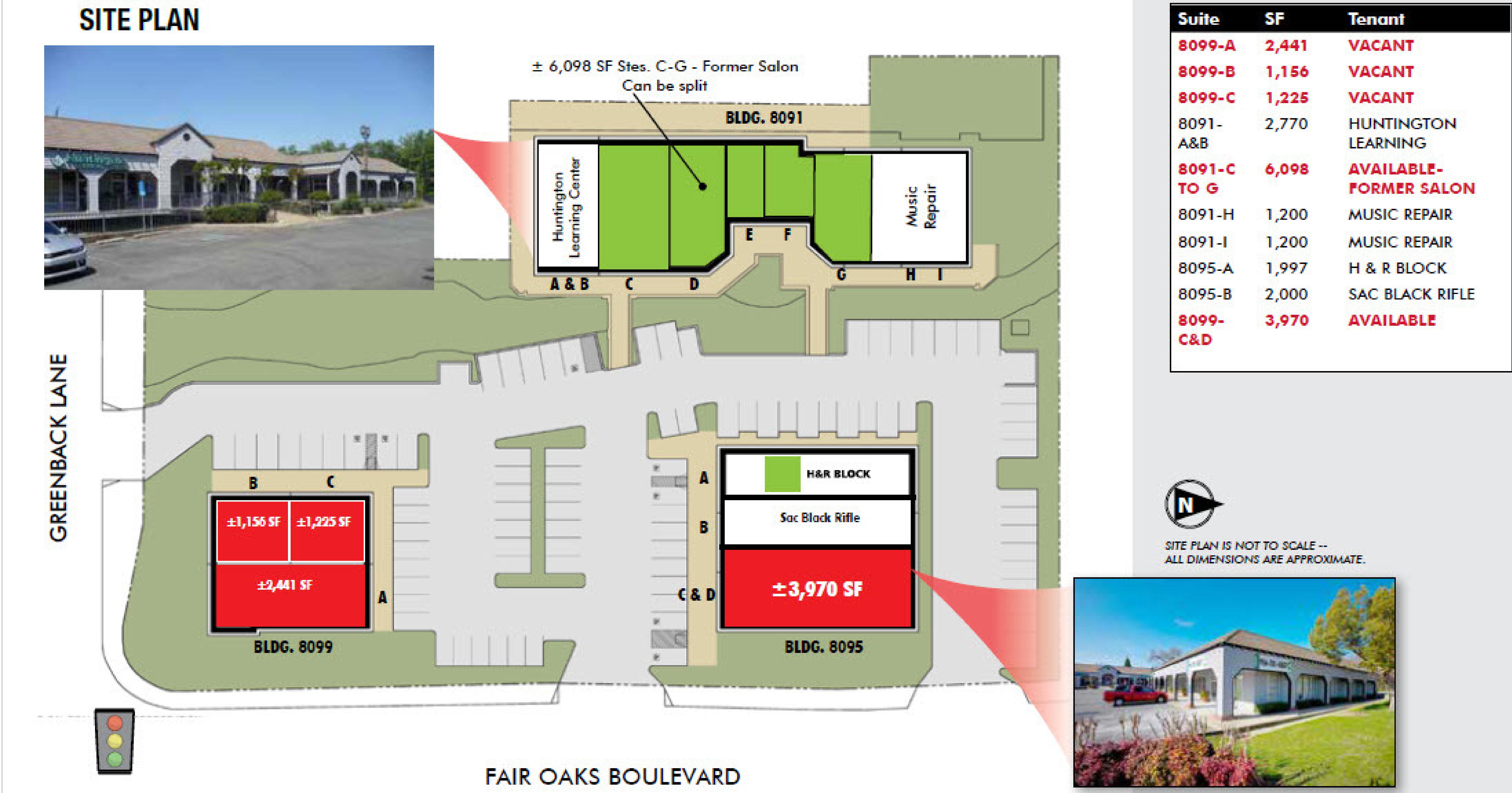 Greenfaire Village: site plan
