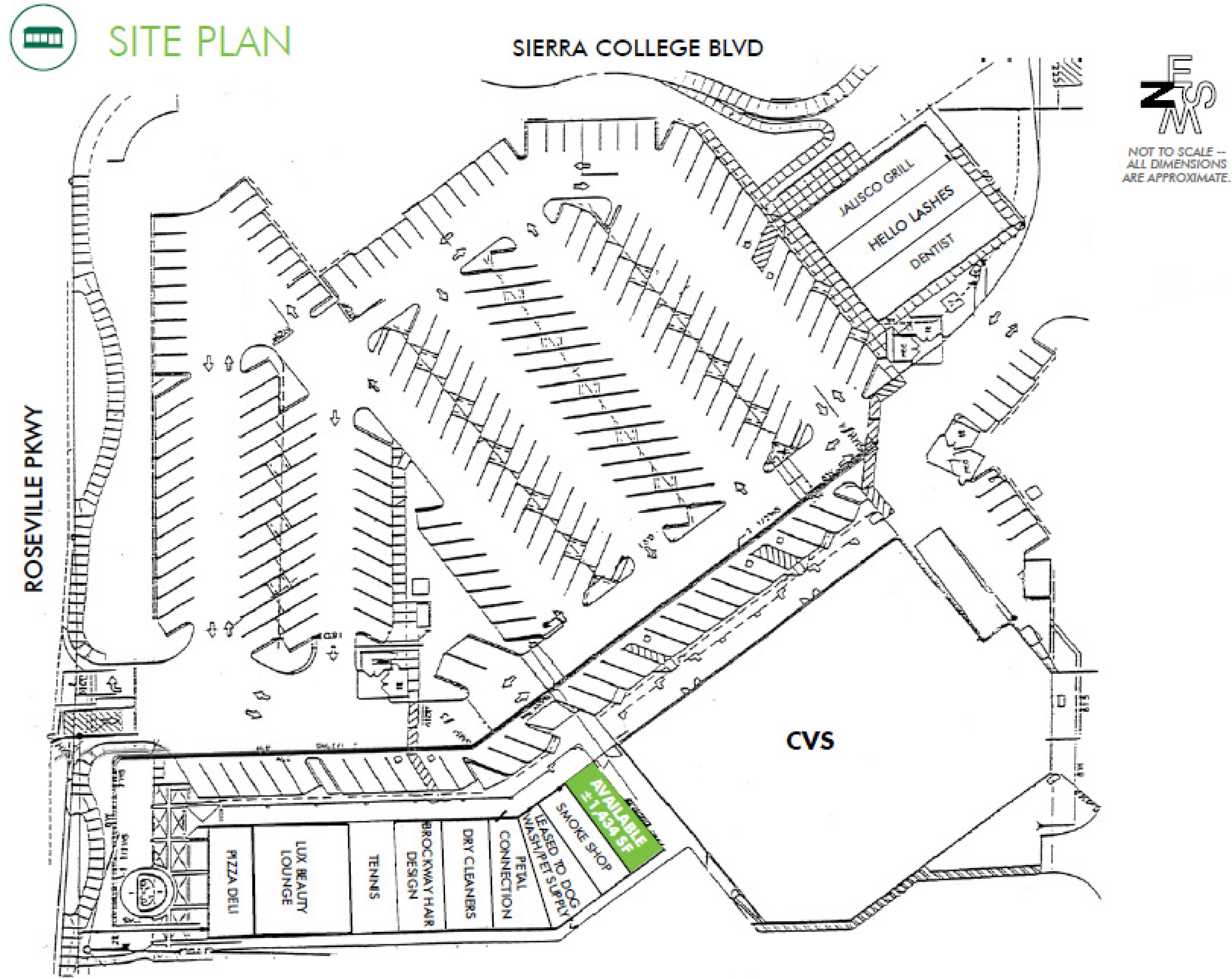 Johnson Ranch: site plan